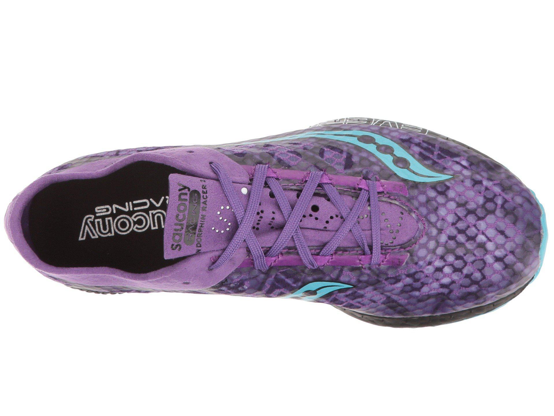 44e9cf341dda Saucony - Endorphin Racer 2 (purple teal) Women s Shoes - Lyst. View  fullscreen