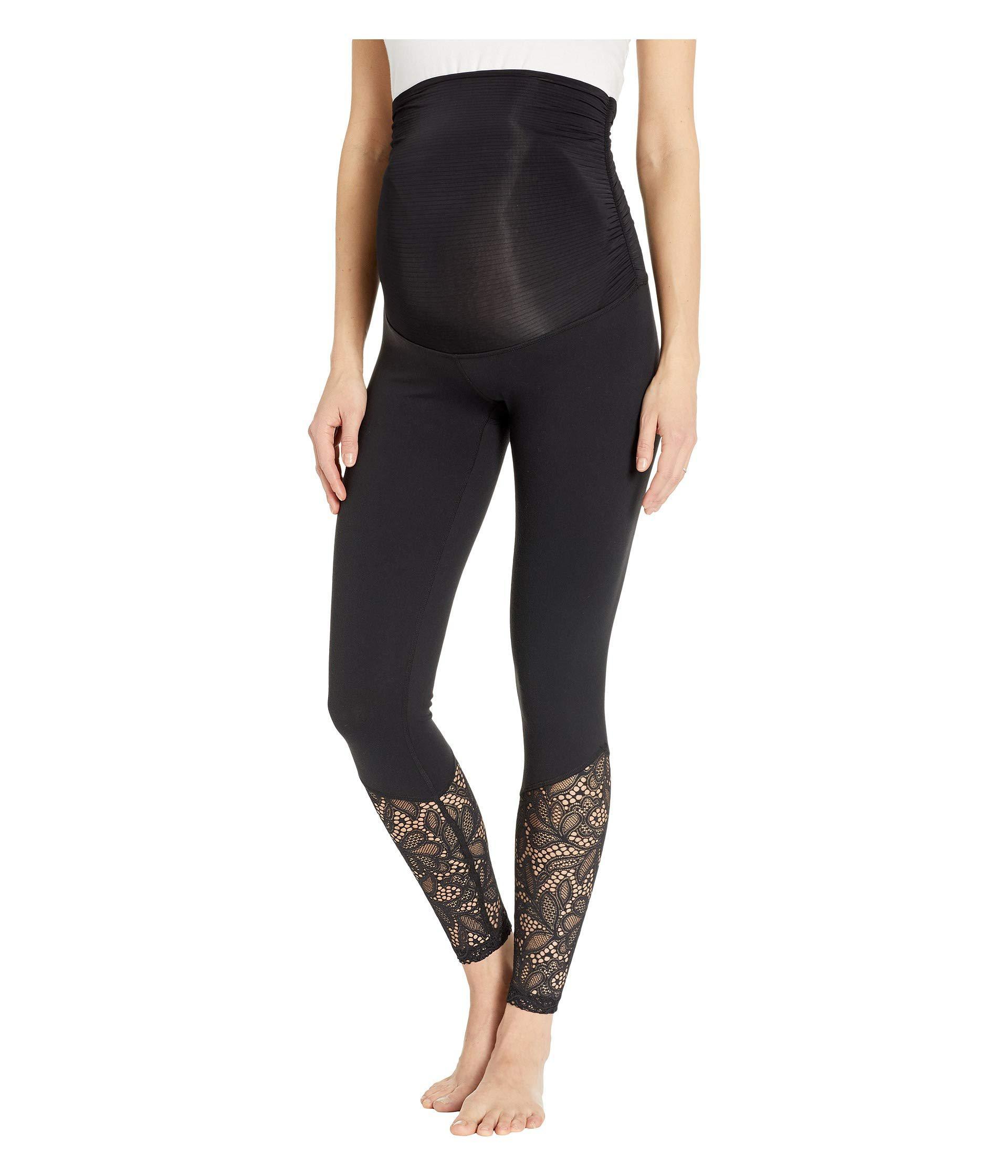 4c005f625f Lyst - Beyond Yoga Maternity Lace Midi Leggings (jet Black) Women's ...