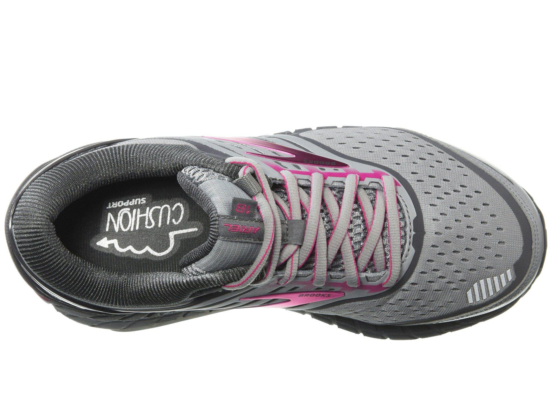 1a17fd02bee1b Brooks - Gray Ariel  18 (ebony black thistle) Women s Running Shoes. View  fullscreen