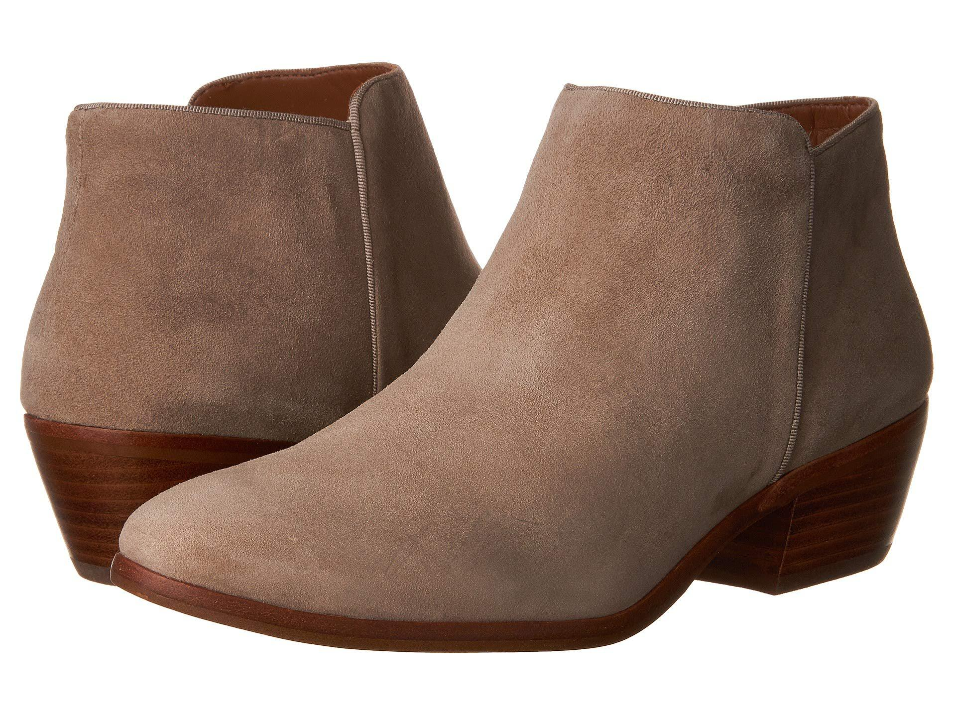 b30698f481e416 Lyst - Sam Edelman Petty Suede Booties - Save 29%