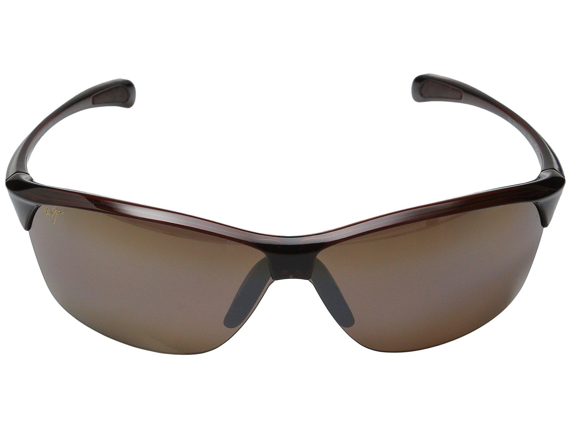 2acdffd833 Maui Jim - Red Hot Sands (rootbeer/hcl Bronze) Plastic Frame Sport  Sunglasses. View fullscreen