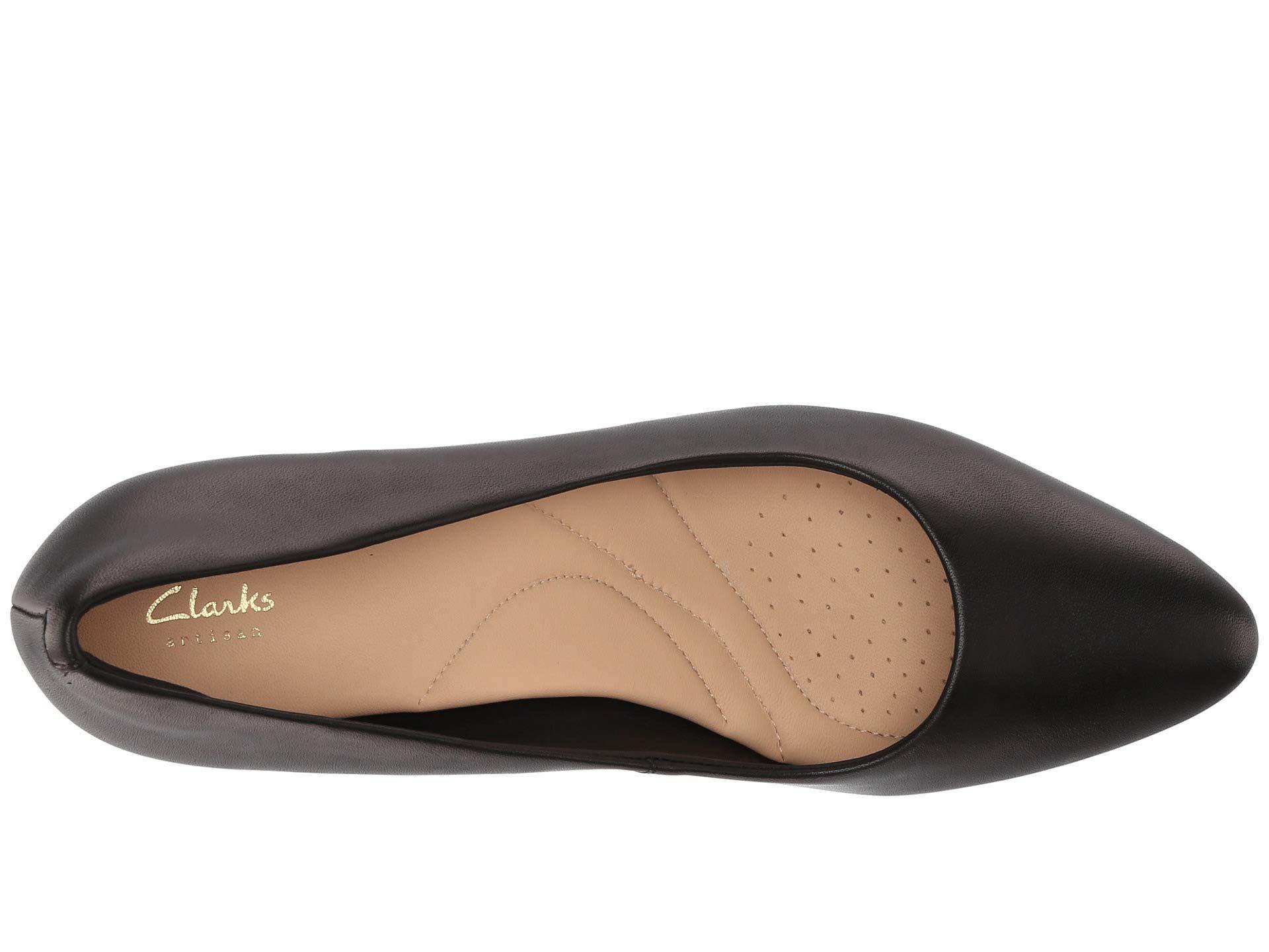 435b960b089e Clarks - Calla Rose (black Leather 2) High Heels - Lyst. View fullscreen