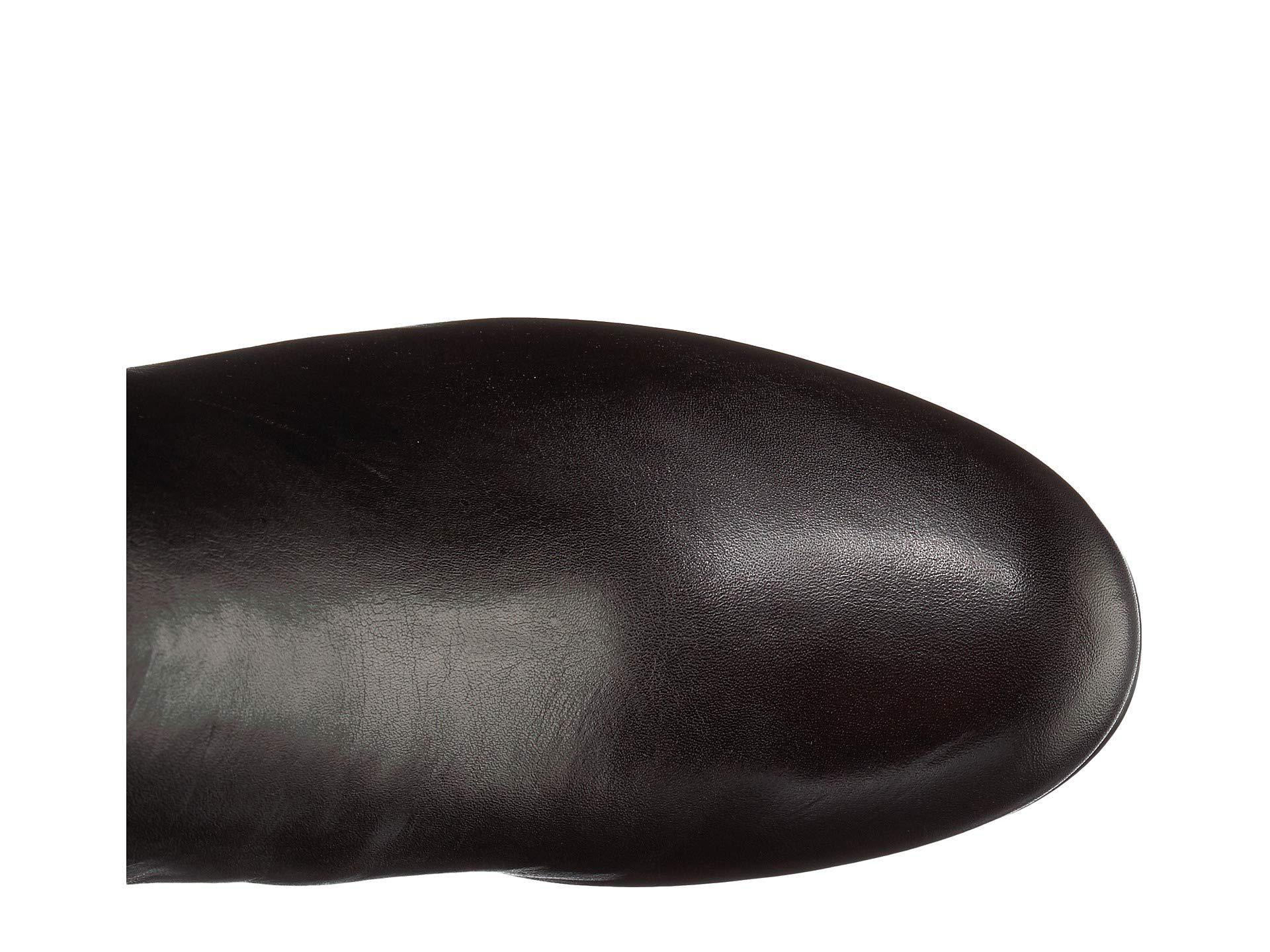 840381d4df2e7 Sam Edelman - Valda (black Leather Modena Calf Leather ribbed Stretch Knit)  Women s. View fullscreen