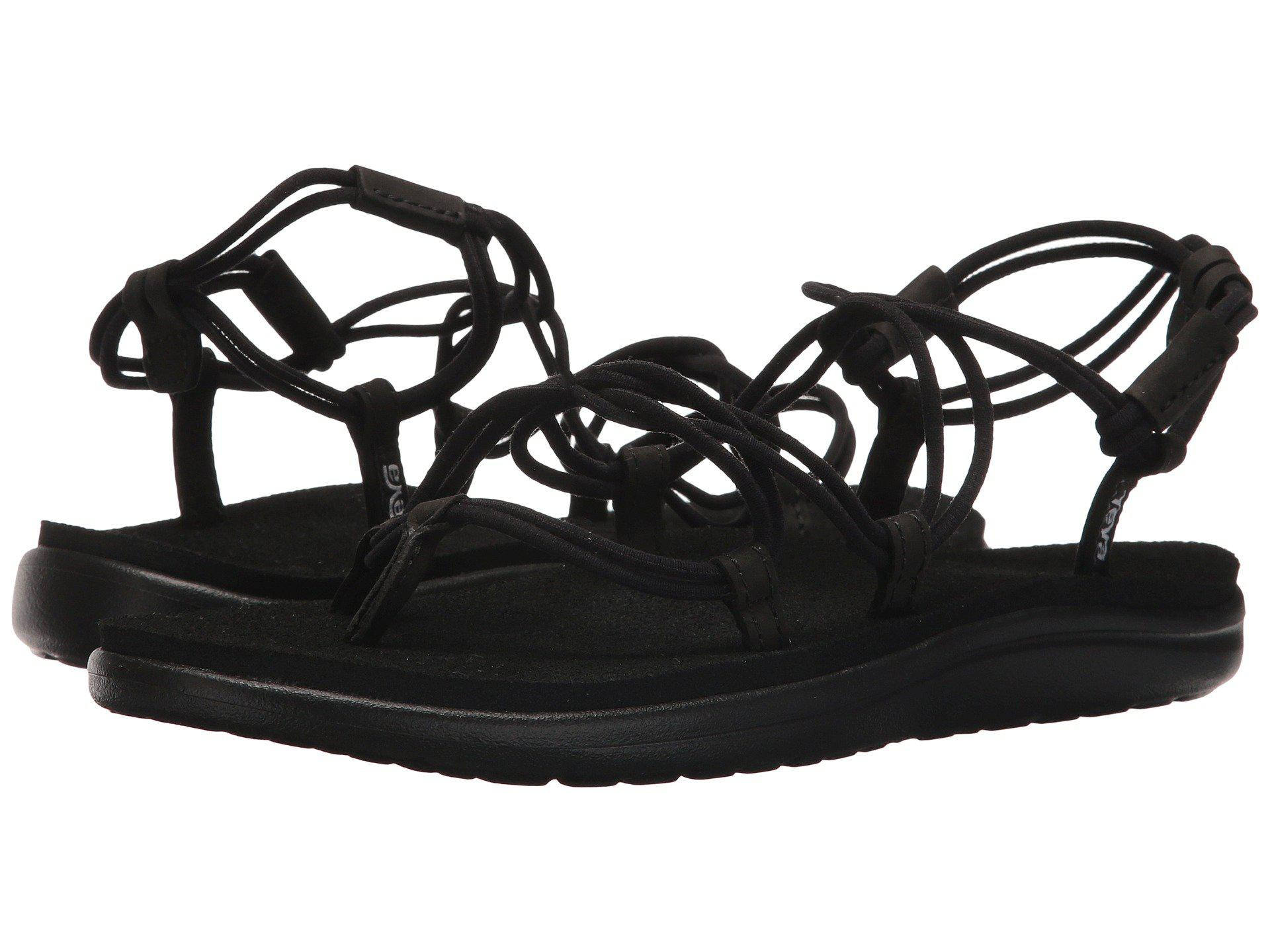 e631f5f21622 Lyst - Teva Voya Infinity (black) Women s Shoes in Black
