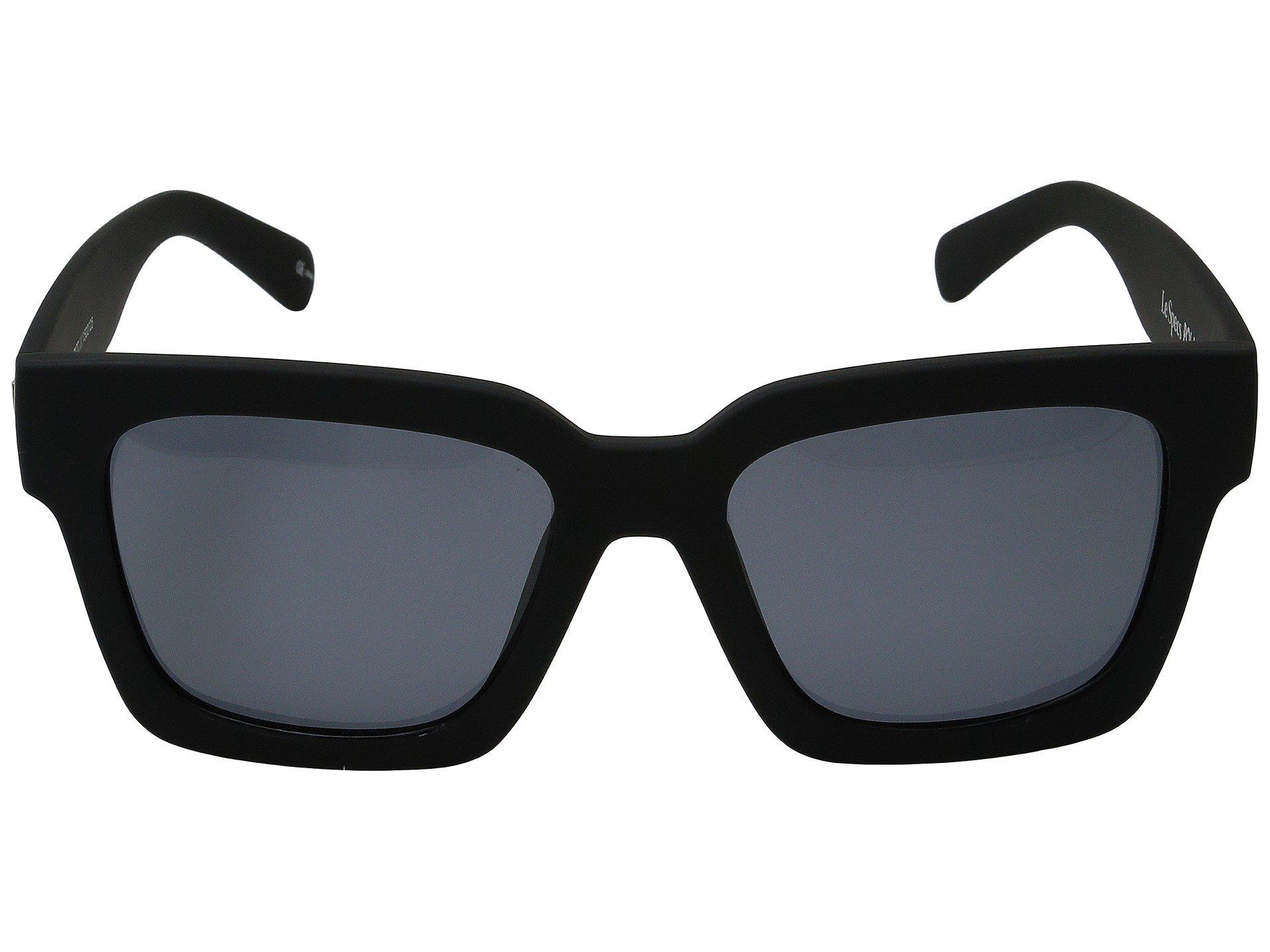 de267c06bda Le Specs - Weekend Riot (black Rubber) Fashion Sunglasses for Men - Lyst.  View fullscreen