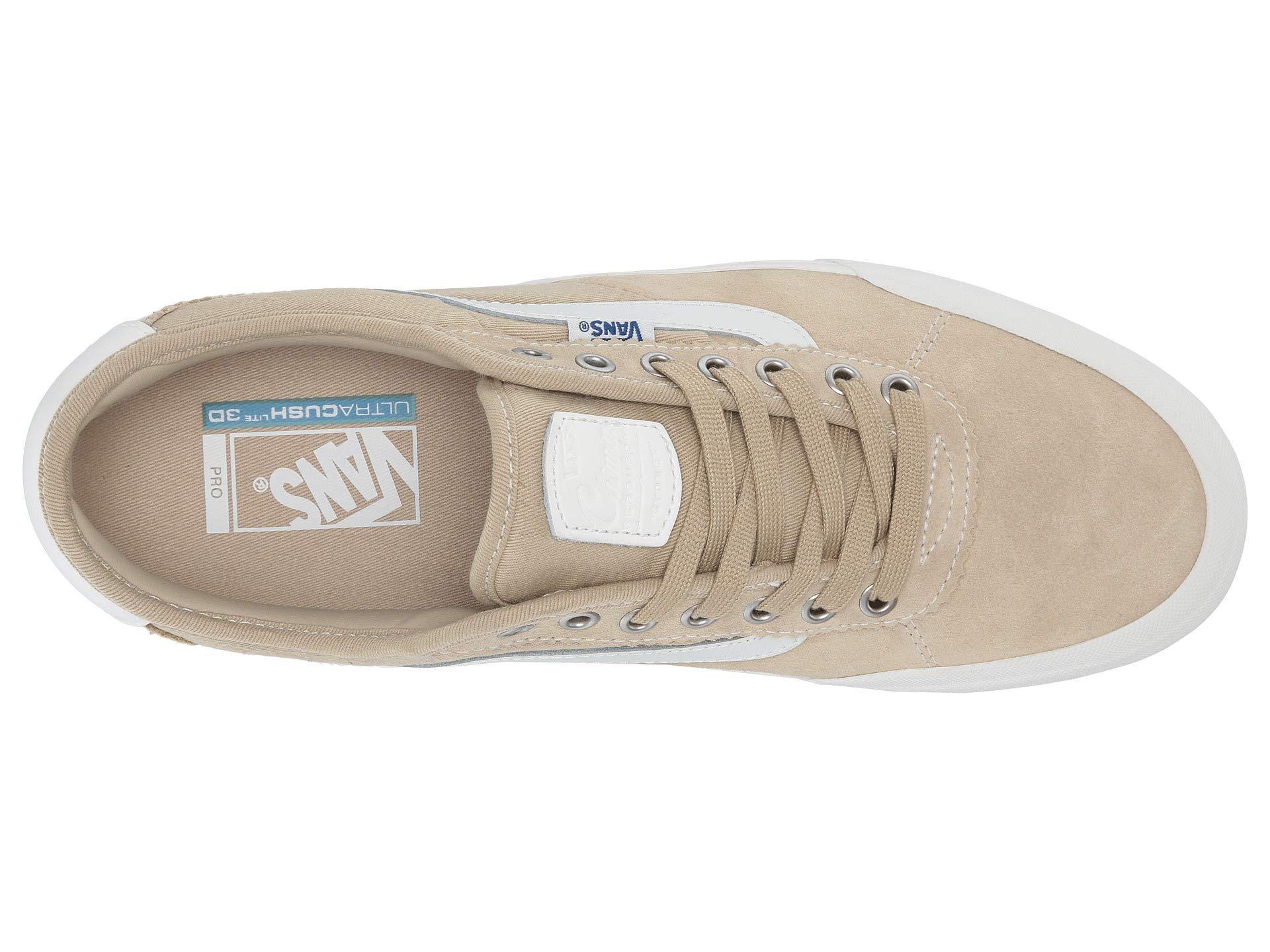 53d54110a4b Vans - White Chima Pro 2 ((retro) Slate Green) Men s Skate Shoes. View  fullscreen