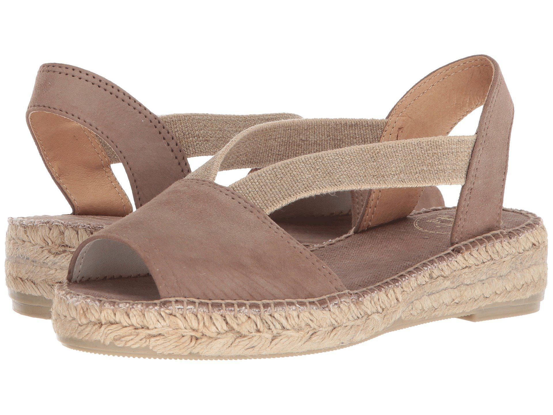 cb6432e41b152 Lyst - Toni Pons Ella (black Suede) Women s Shoes