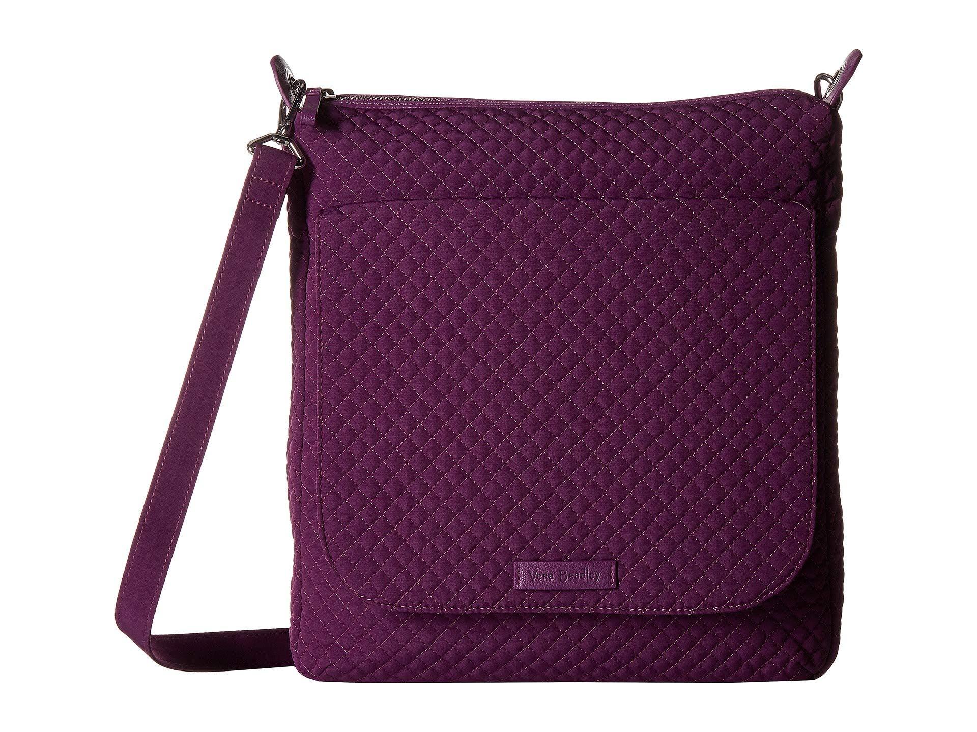 Lyst - Vera Bradley Carson Mailbag (pretty Posies) Bags in Purple 6aa78cdc4abf8