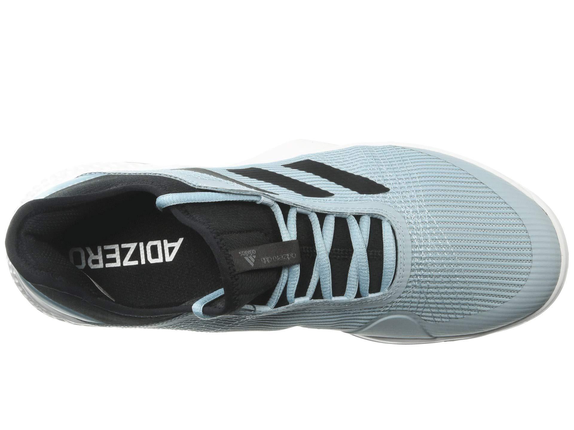 a8d79bf517d17 Lyst - adidas Adizero Club 2 (light Granite shock Red footwear White ...