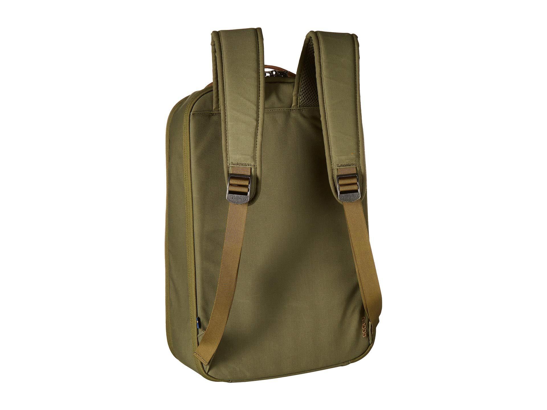 a6dda1d21ef8 Fjallraven - Green Travel Pack Small (black) Backpack Bags for Men - Lyst.  View fullscreen
