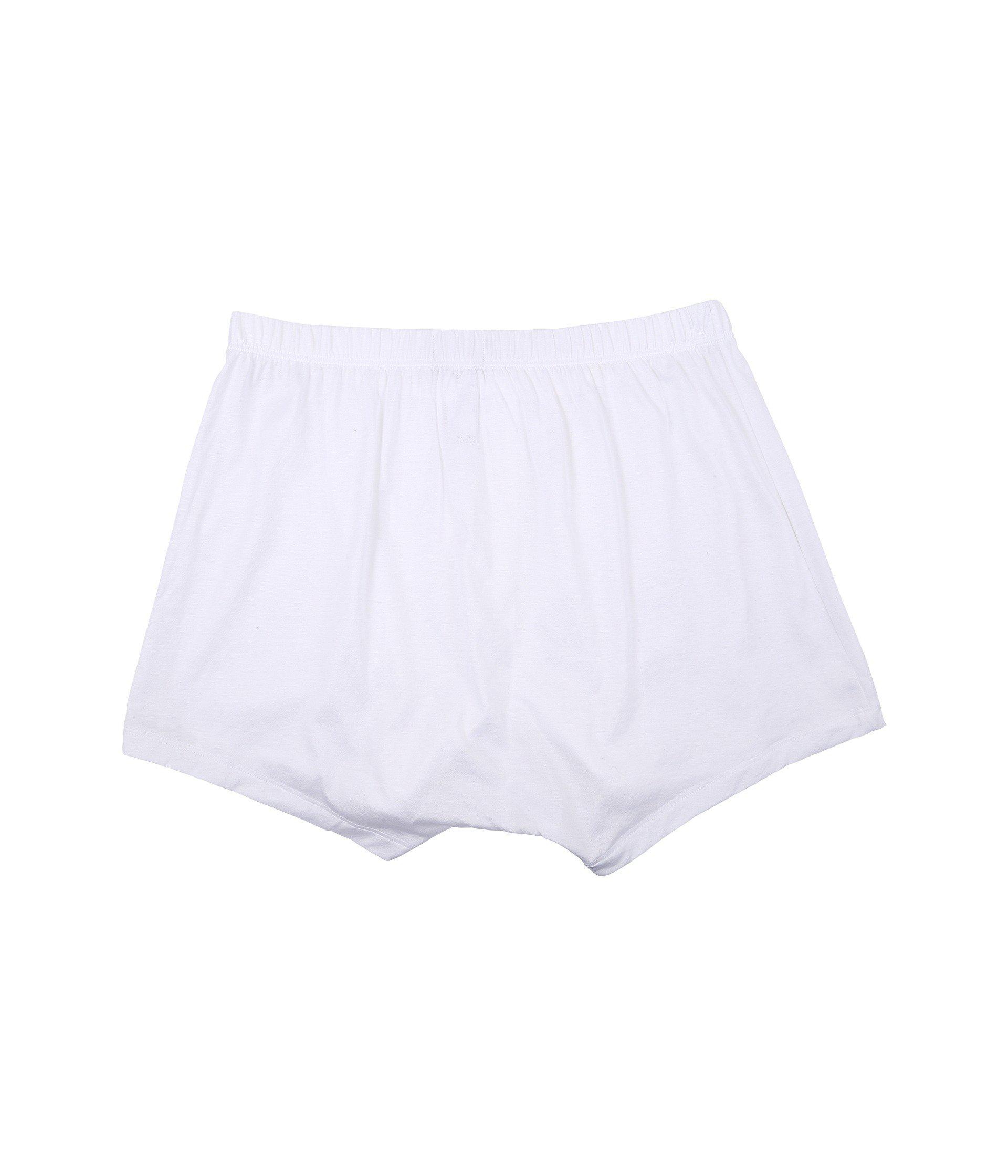 b65c35d2ec359 Lyst - Hanro Cotton Sporty Knit Boxer (midnight Navy) Men s ...