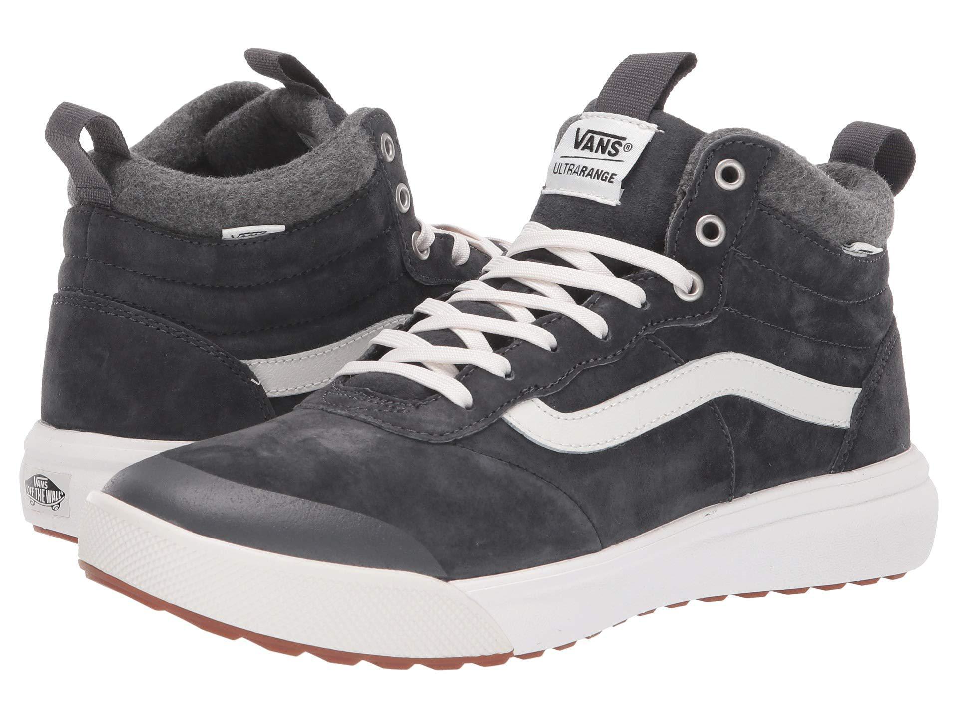 Lyst - Vans Ultrarange Hi Mte ((wool) Frost Gray) Skate Shoes a5800975d