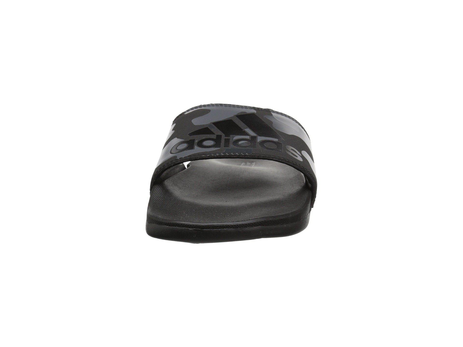 b4f4866254e9a7 Lyst - adidas Adilette Cf+ Link Gr (black white carbon) Men s Slide ...