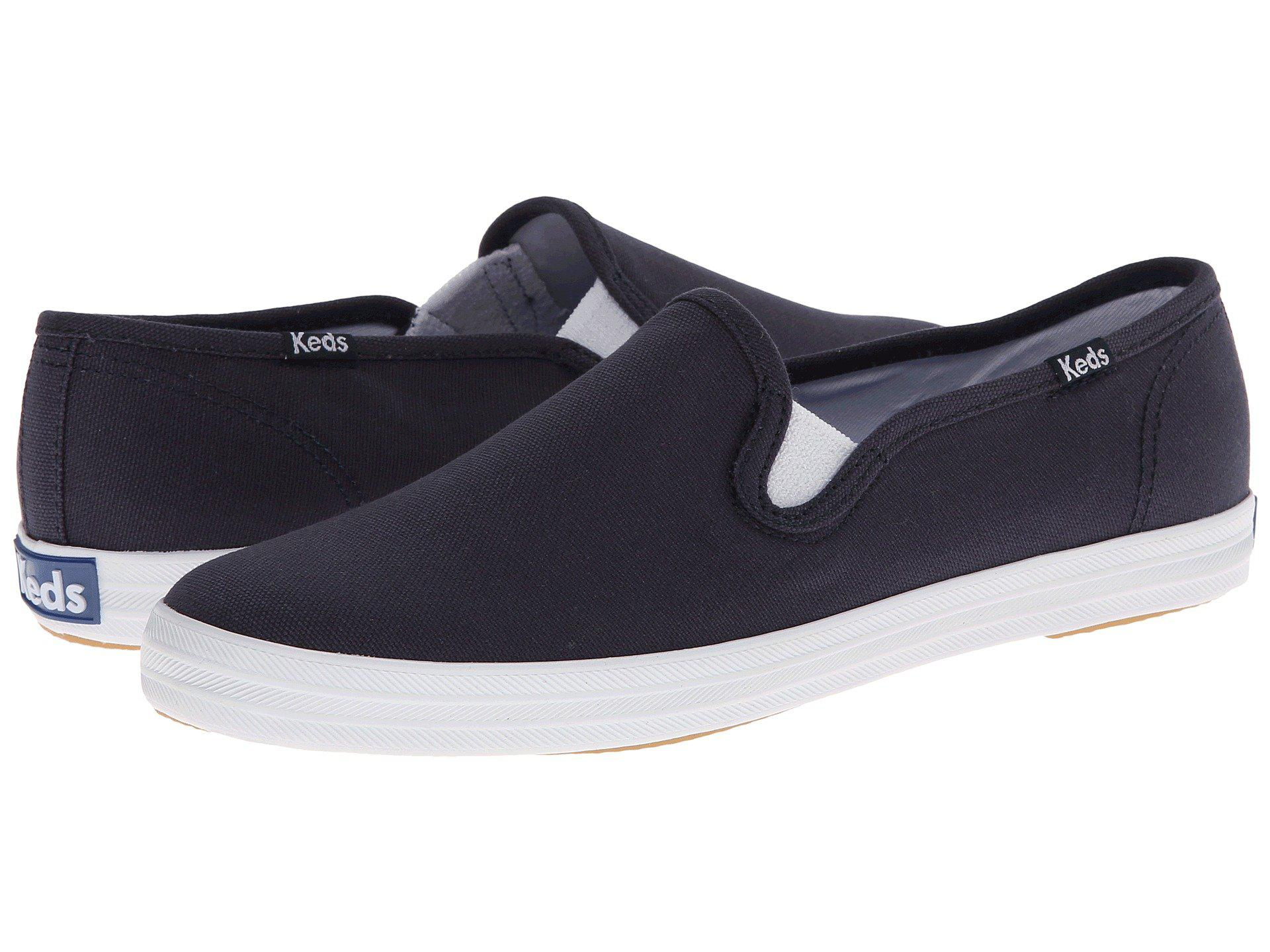 c7237ac41 Lyst - Keds Champion-canvas Slip-on in Blue