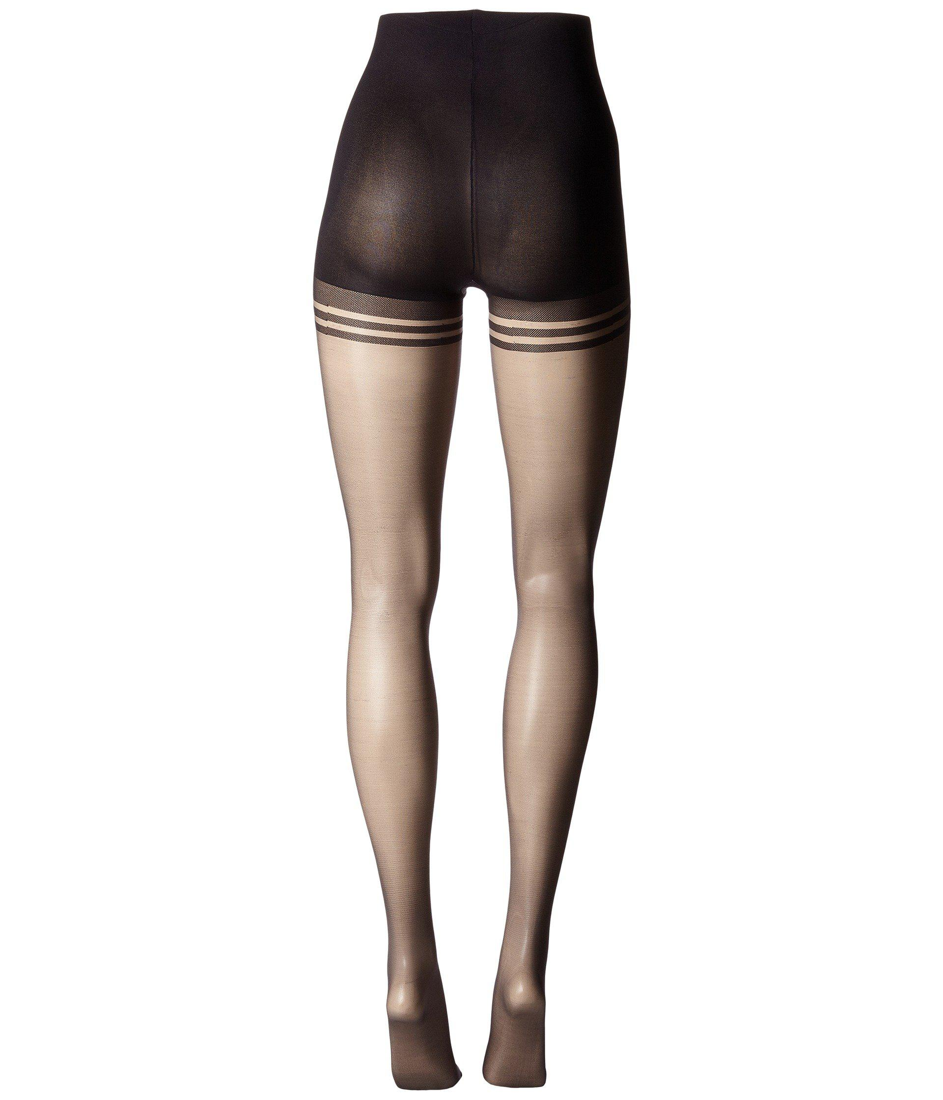 471924c1da5 Pretty Polly Nylons 10 Denier Slimmer Gloss Tights (black) Hose in ...