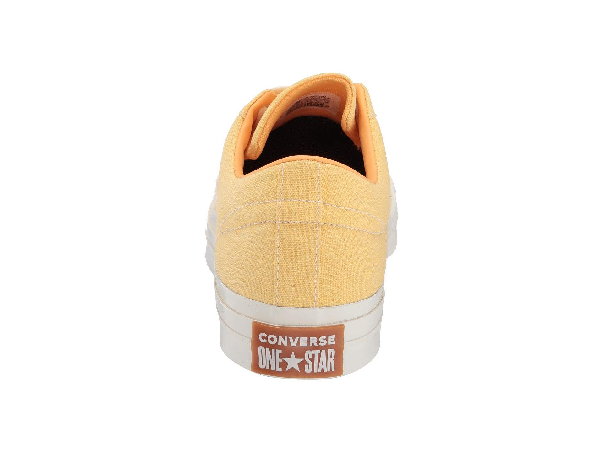 cae0756bc1e64 Converse One Star Sunbaked - Ox (turf Orange bleached Coral egret) Classic  Shoes - Lyst