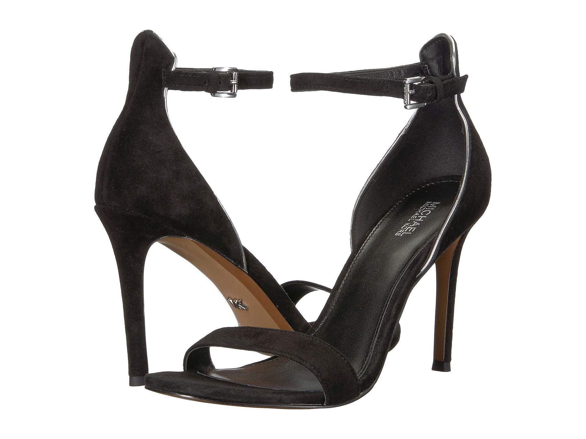 10042cbbecf4 Lyst - MICHAEL Michael Kors Harper Sandal (soft Pink Embossed Patent ...