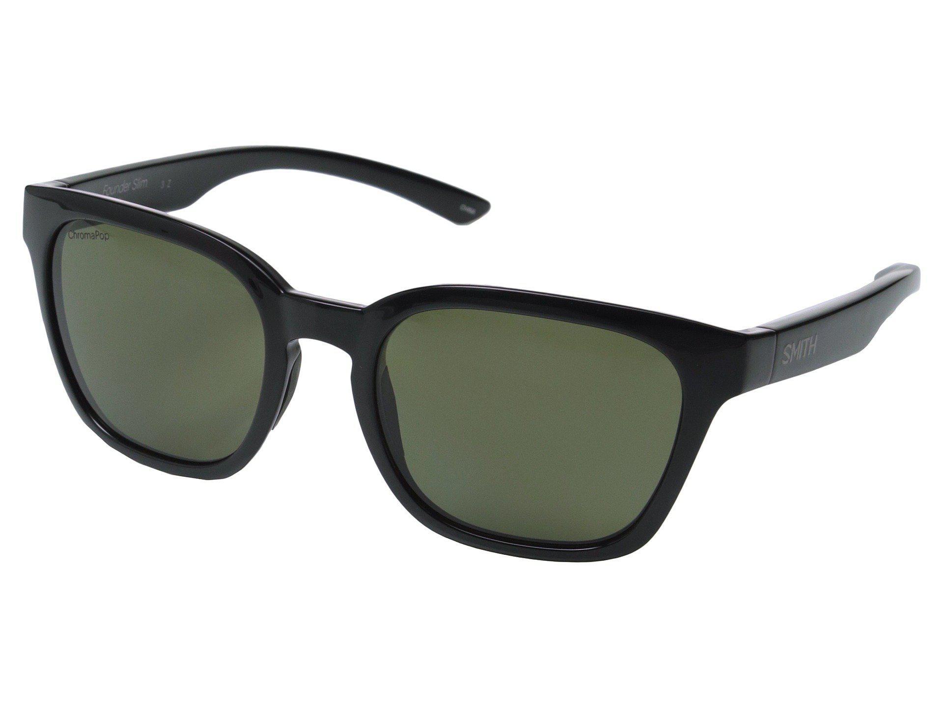 dcf50f9412a Lyst - Smith Optics Founder Slim (black polarized Gray green ...