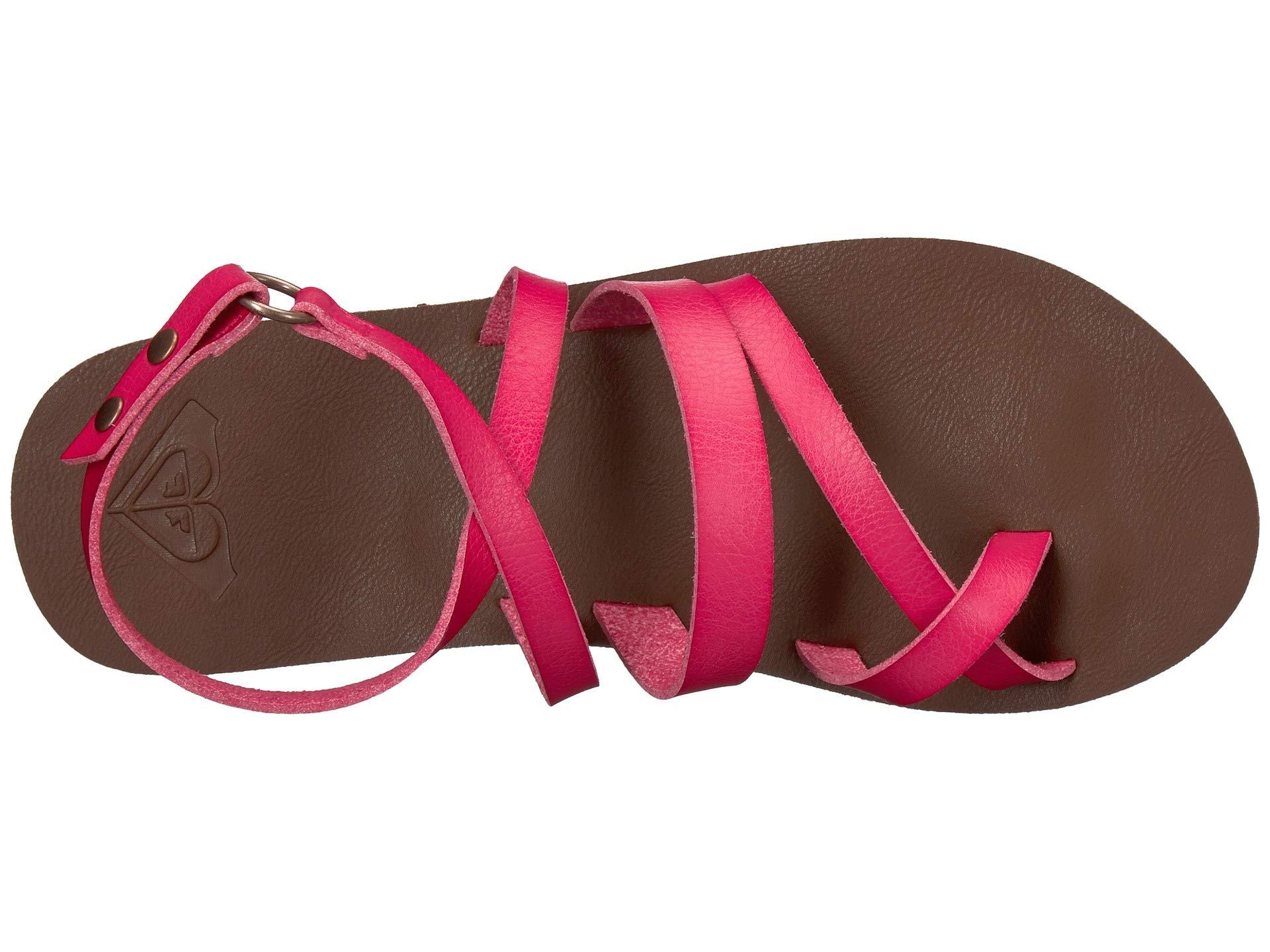 c76256506baa Roxy - Pink Rachelle (black) Women s Sandals - Lyst. View fullscreen