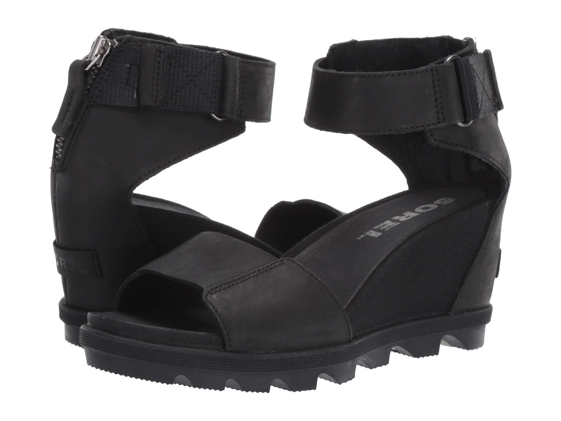 ad0fbf96c Lyst - Sorel Joanie Ii Ankle Strap in Black