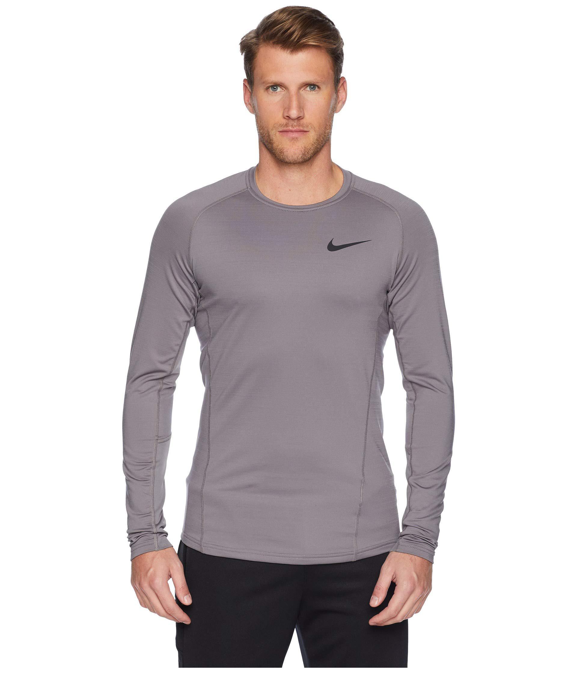 e58543289ea4 Lyst nike pro thermal top long sleeve white black men jpg 1920x2240 Nike  dress clothes for