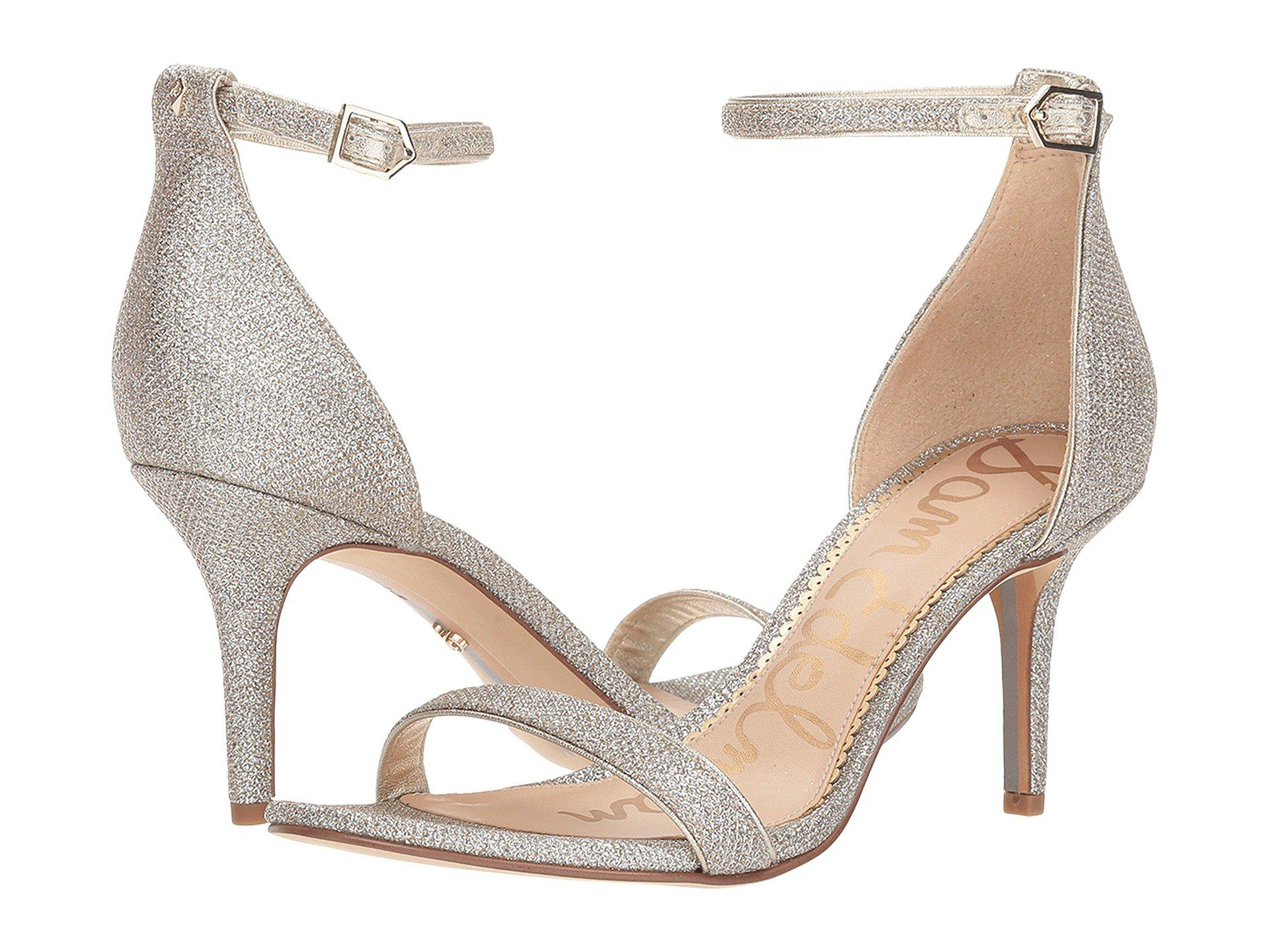 959d26823 Lyst - Sam Edelman Patti Dress Sandal in Metallic - Save 41%