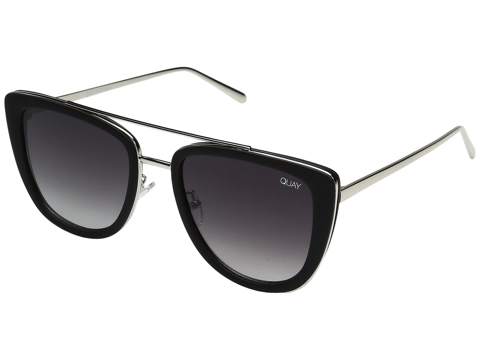 430f330182e70 Quay - Black French Kiss (tort gold) Fashion Sunglasses - Lyst. View  fullscreen