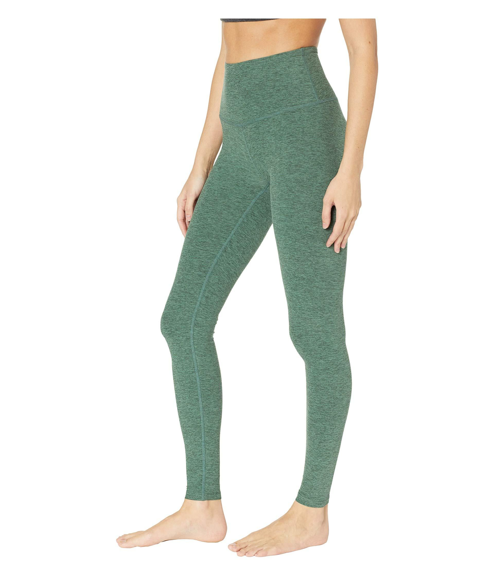 ebf6f620c37bd Lyst - Beyond Yoga High Waist Long Legging (black/white) Women's Workout in  Green