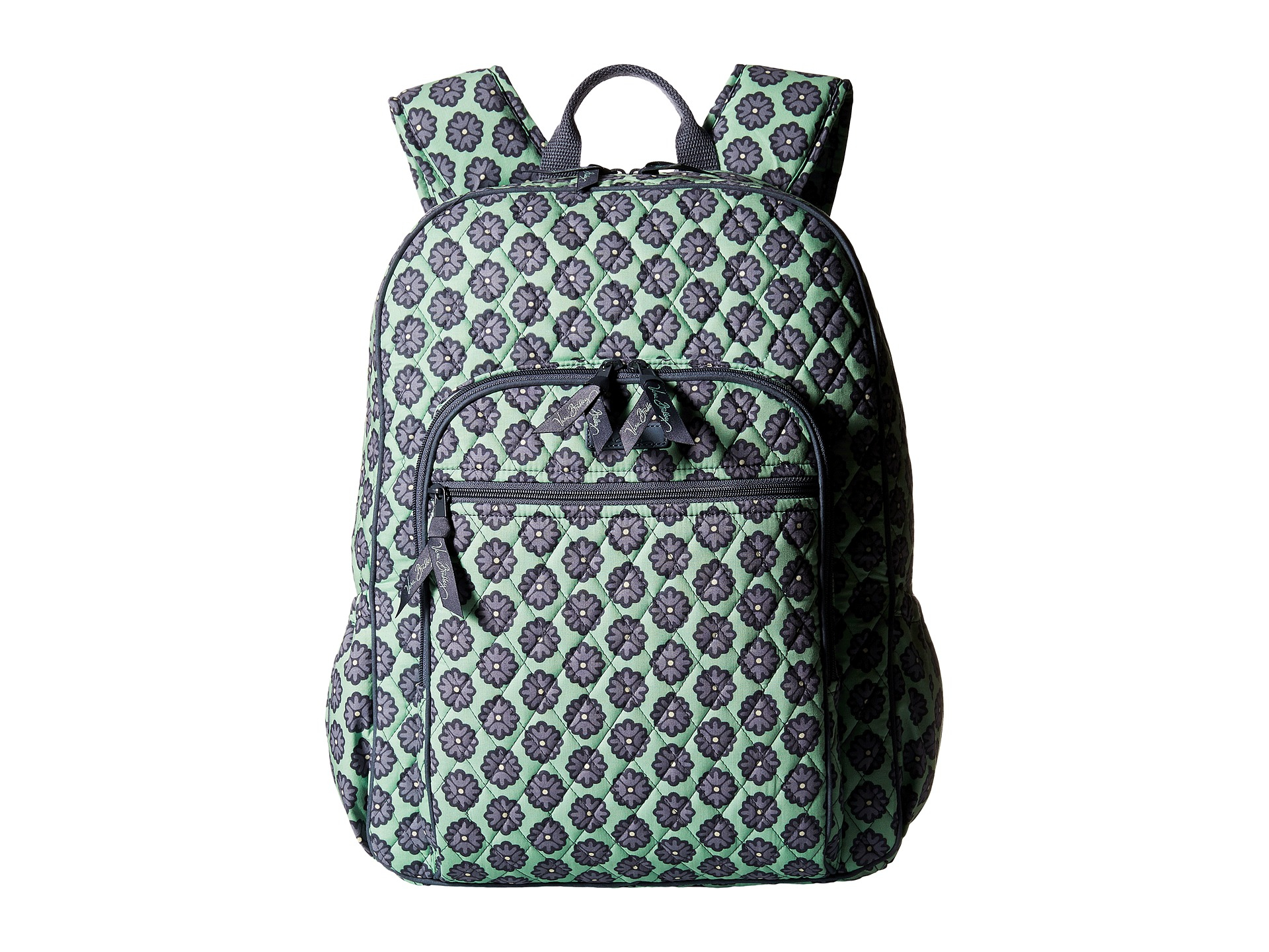 b37013c047 Lyst - Vera Bradley Campus Backpack in Green