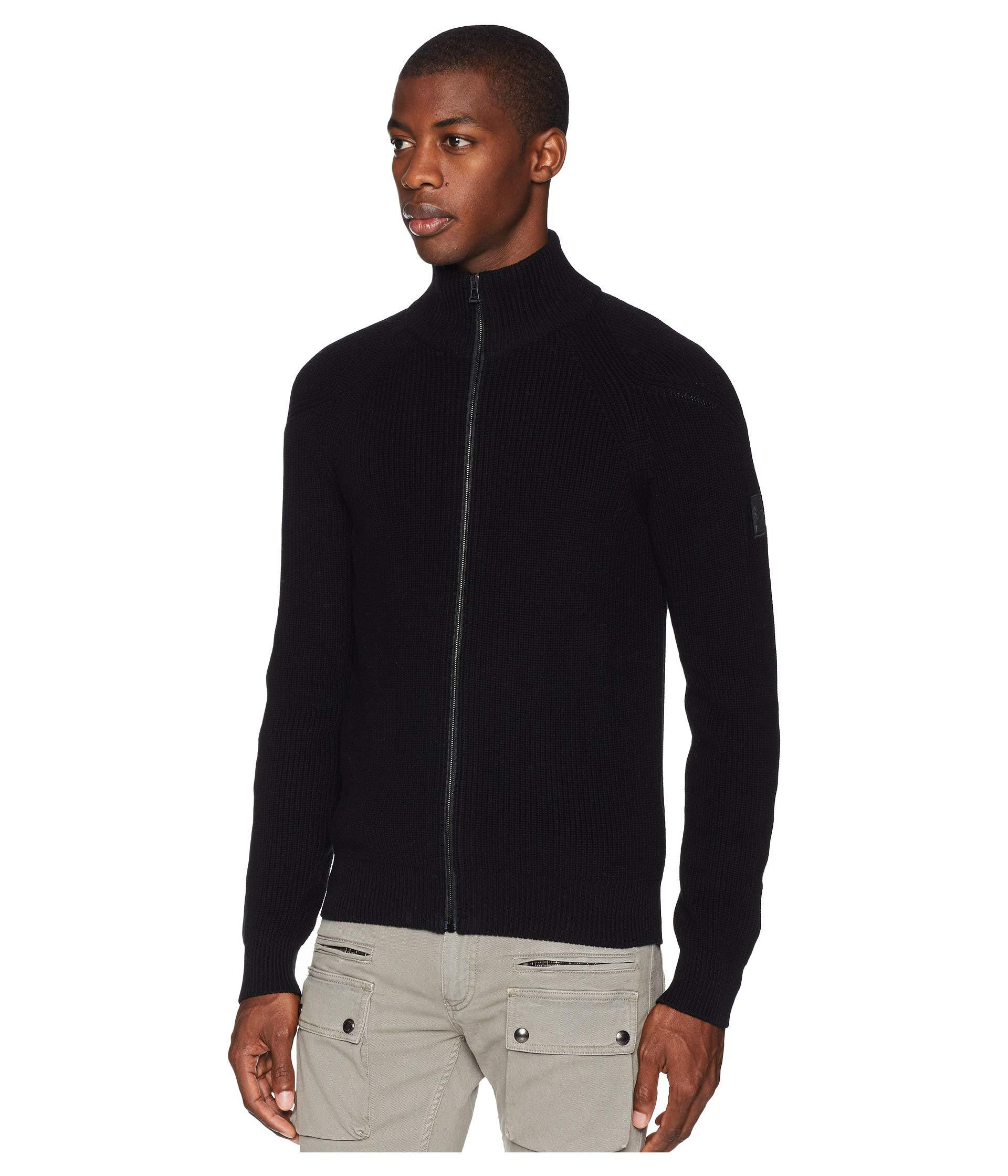 b883abb70133 Lyst - Belstaff Parkgate Ribbed Sweater (black) Men s Sweater in Black for  Men