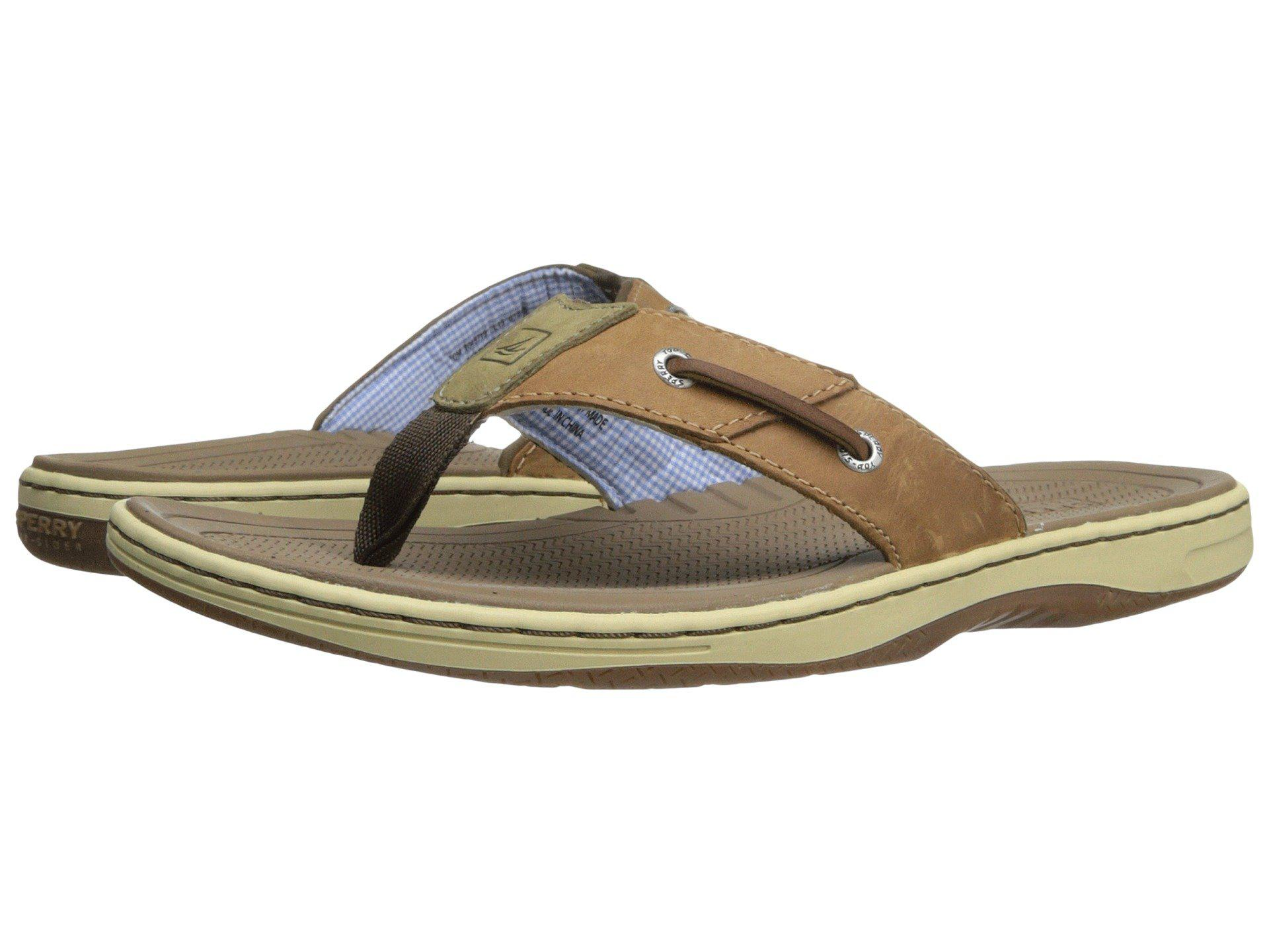 fd2aacbafaa Lyst - Sperry Top-Sider Baitfish Thong (brown) Men s Sandals in ...
