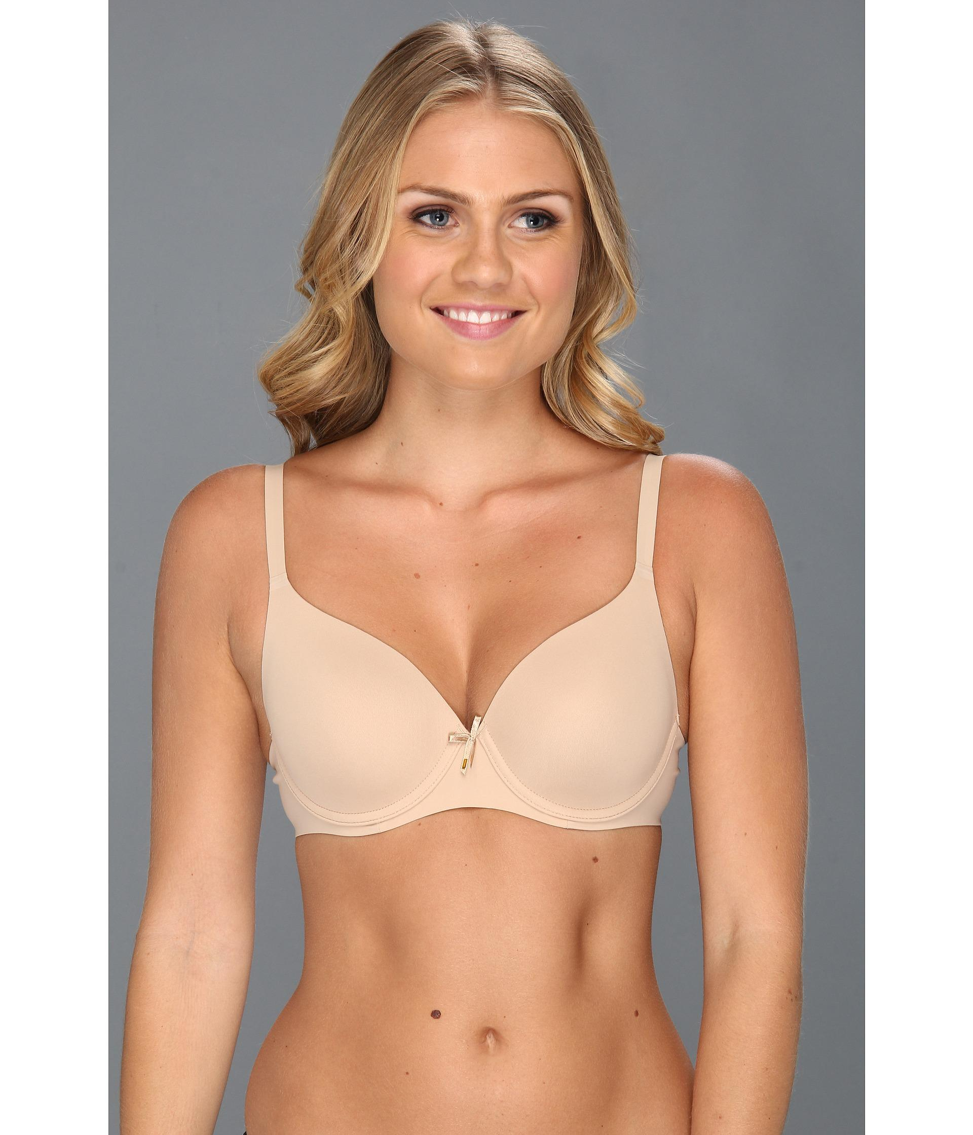 Le mystere Invisible Bond T-shirt Bra 9373 in Natural