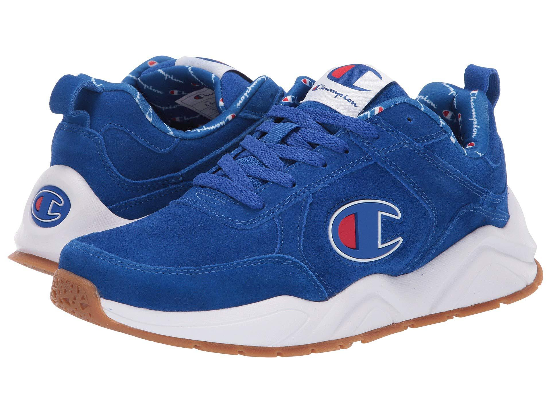 2f951820465 Champion - Blue 93eighteen Big C (black Suede) Men s Shoes for Men - Lyst.  View fullscreen