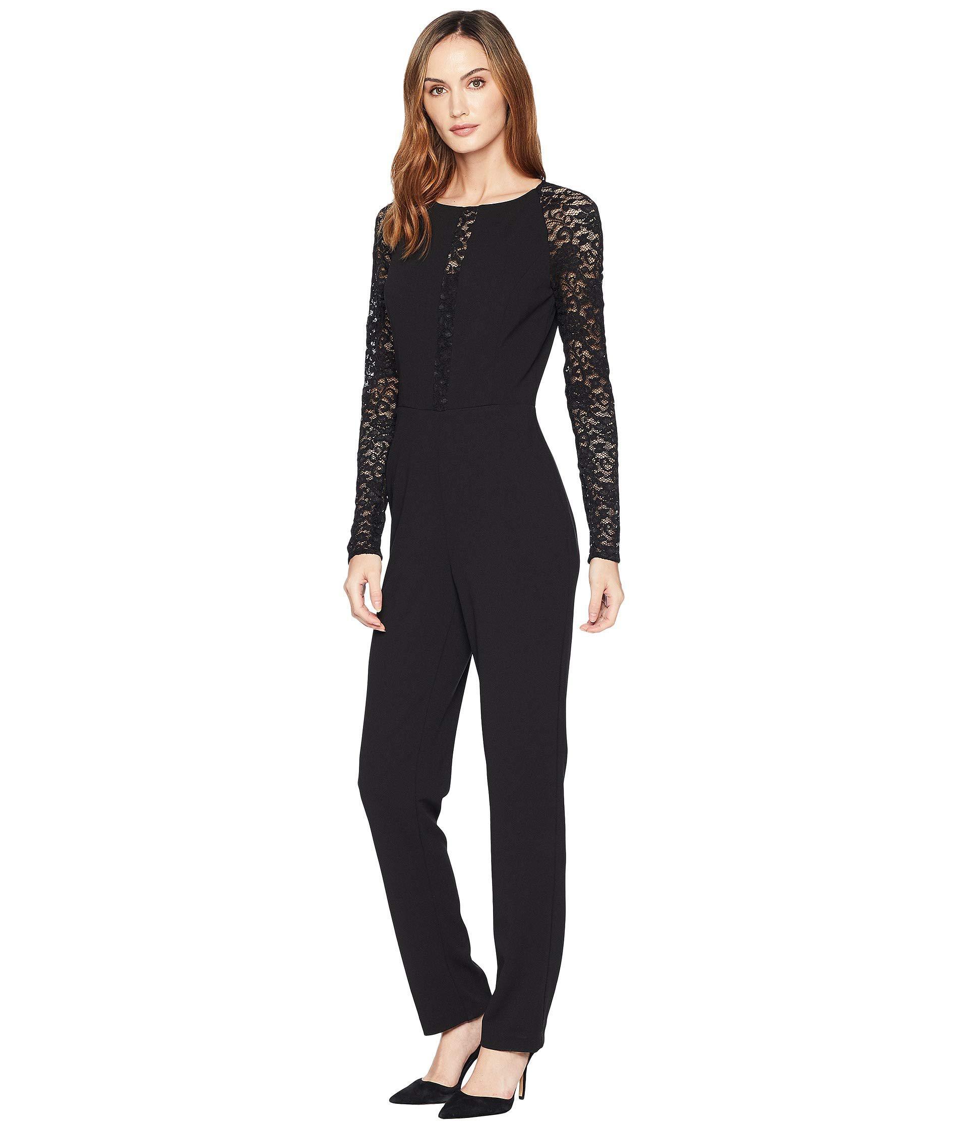 a60bd1527ae Lyst - Lauren By Ralph Lauren Luxe Tech Crepe Priscillia Jumpsuit ...