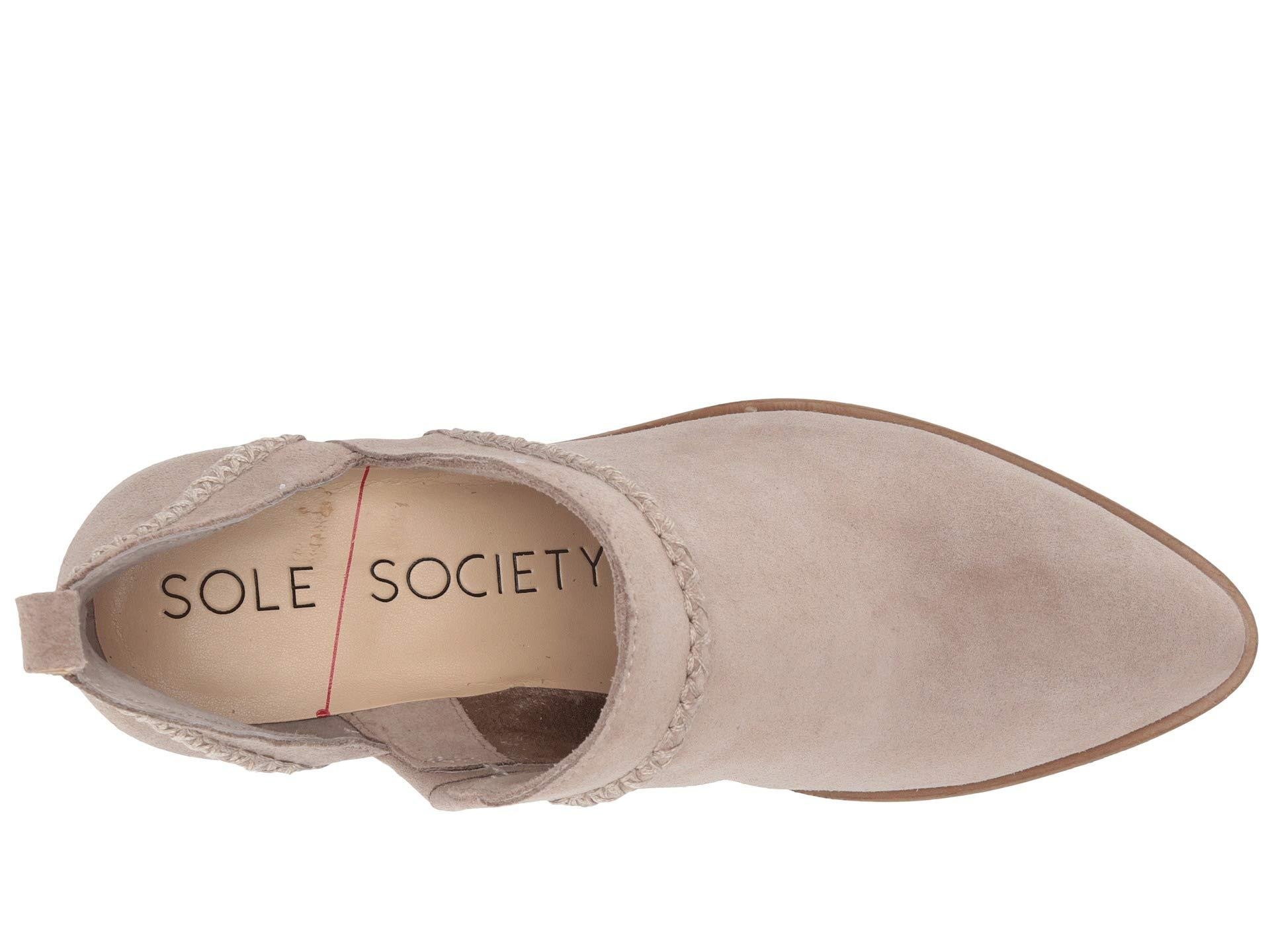 e56082335c6 Sole Society - Multicolor Nikkie (taupe) Women s Boots - Lyst. View  fullscreen