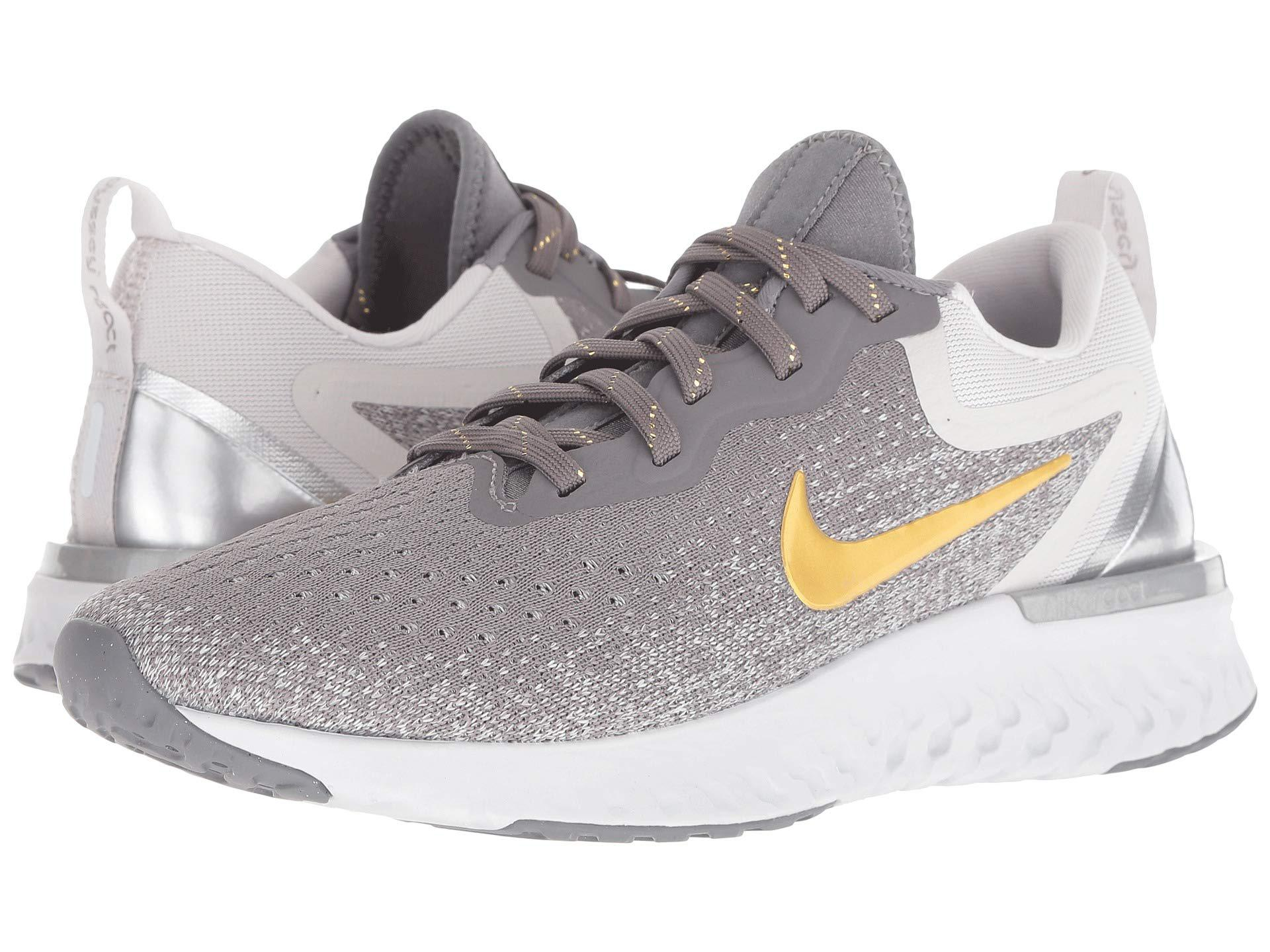 newest collection d44b9 75d7c Nike Odyssey React Premium (gunsmoke metallic Gold vast Grey ...