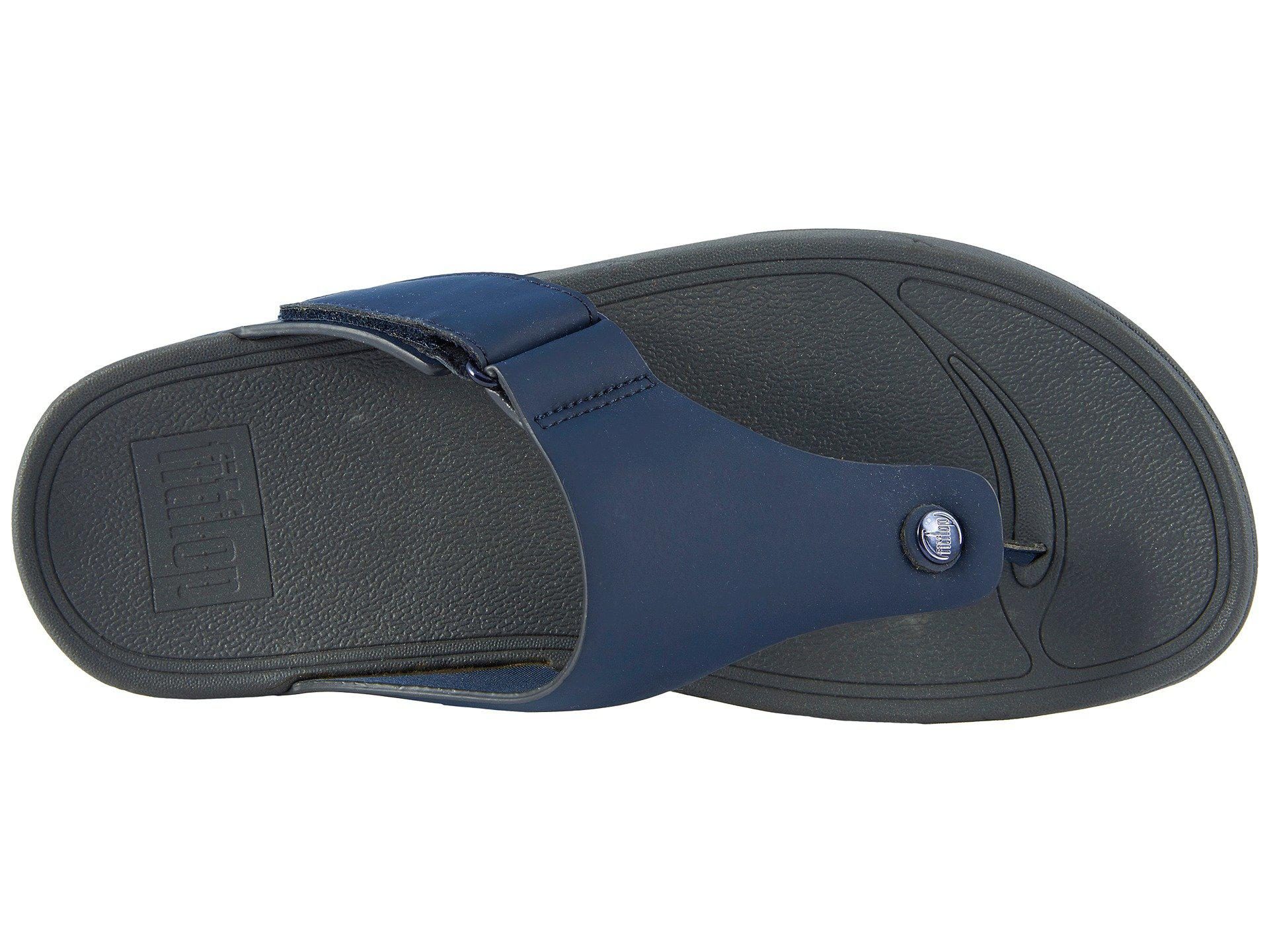 7d86a7b1a7fa Fitflop - Blue Trakk Ii (midnight Navy) Men s Sandals for Men - Lyst. View  fullscreen