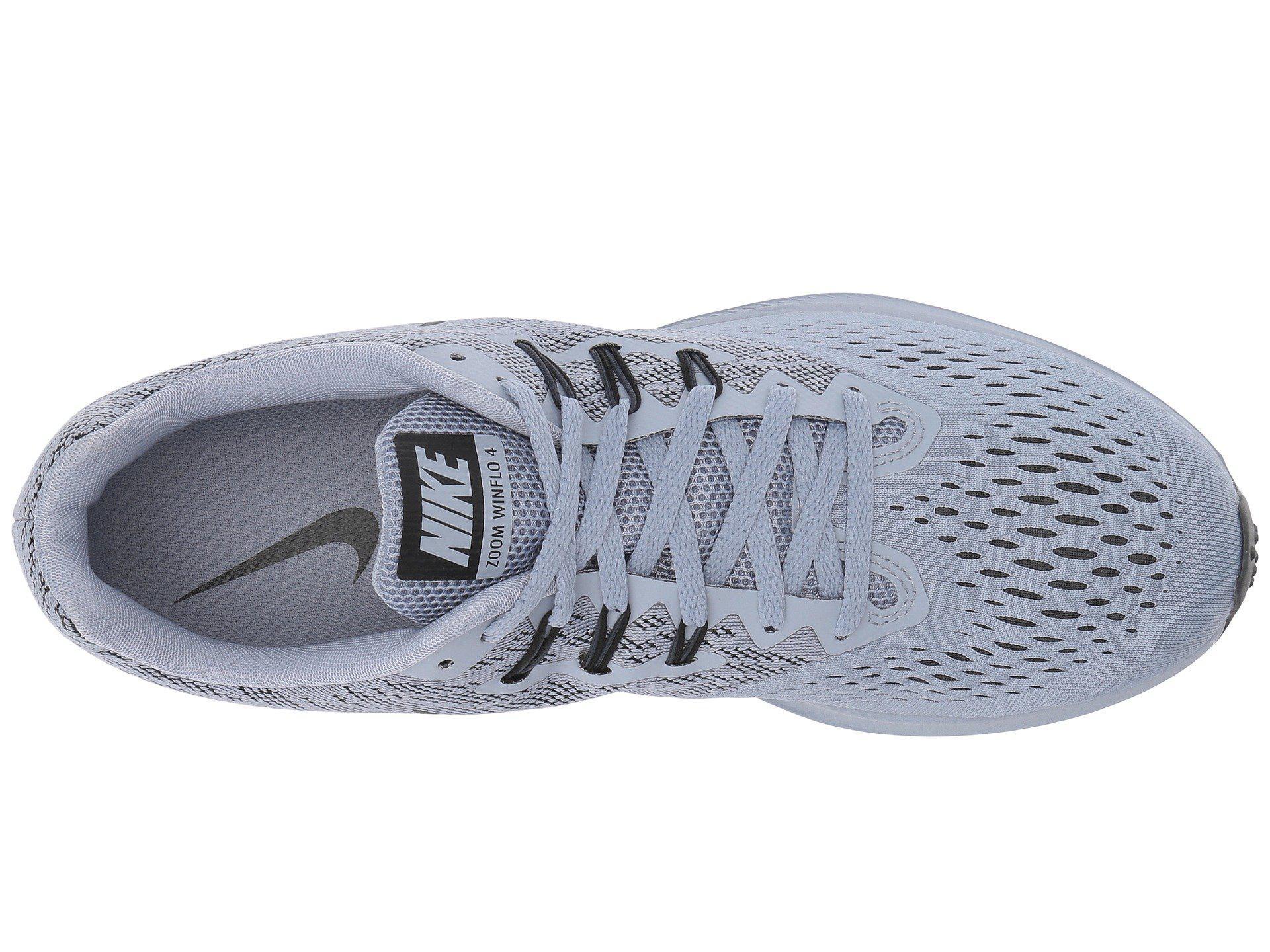 5bc9657ac9011 Lyst - Nike Zoom Winflo 4 (pure Platinum black hyper Royal white ...