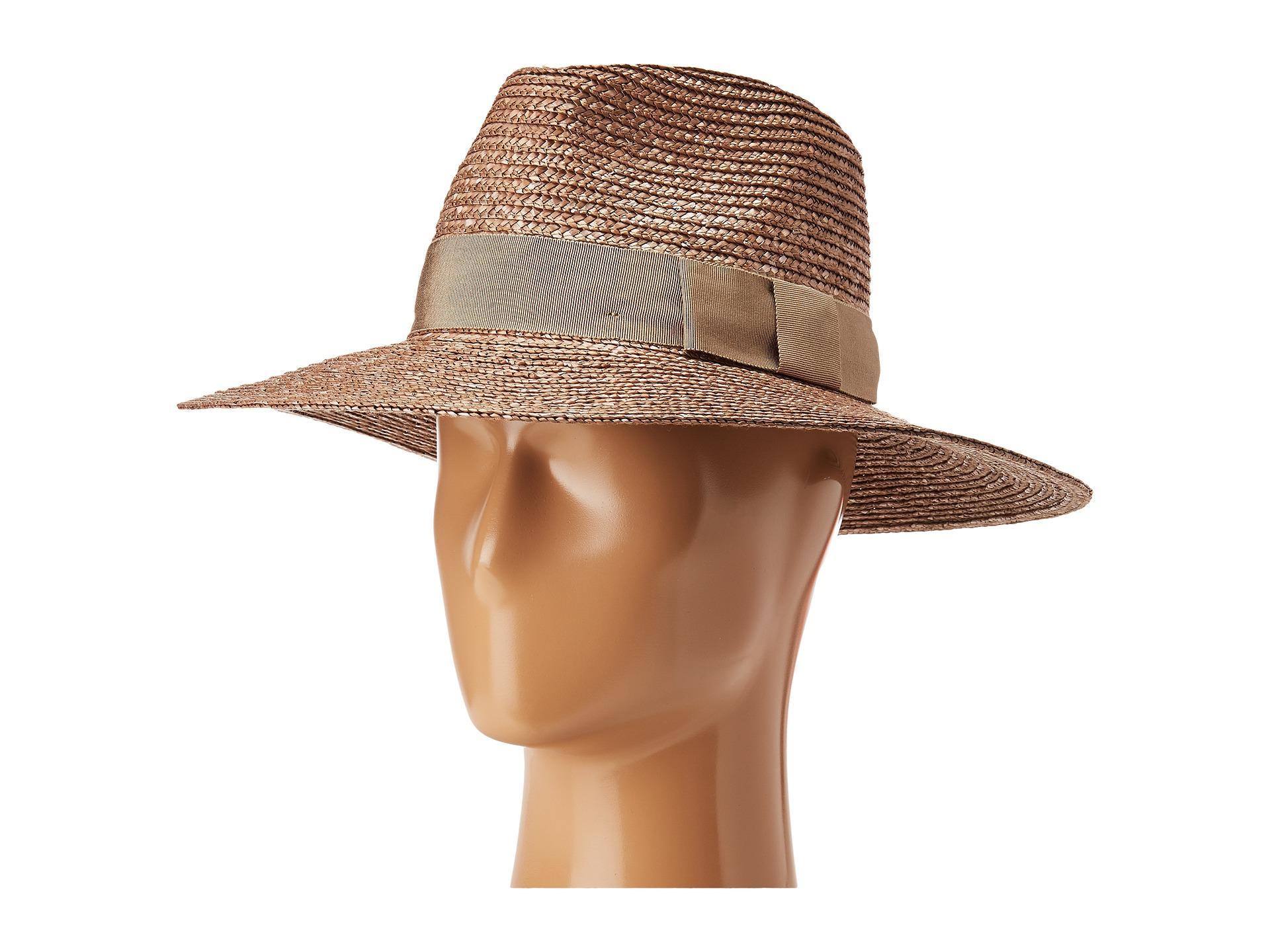 959fc3cdf61 Lyst - Brixton Joanna Hat in Brown