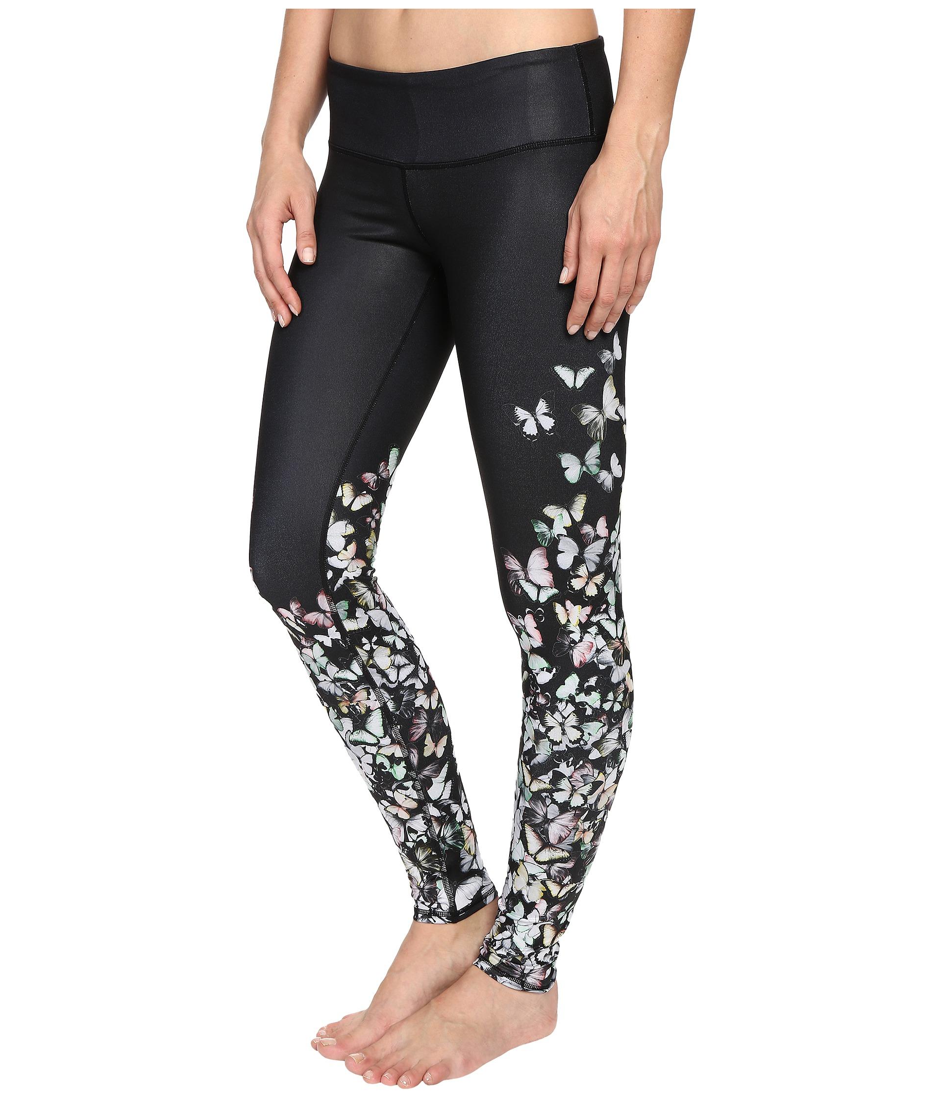 Alo Yoga Butterfly Leggings In Black