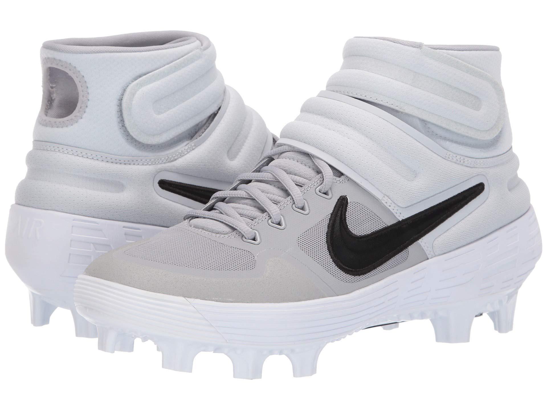 7e9c5b2ee Nike - Multicolor Alpha Huarache Elite 2 Mid Mcs (black white) Men s  Cleated. View fullscreen