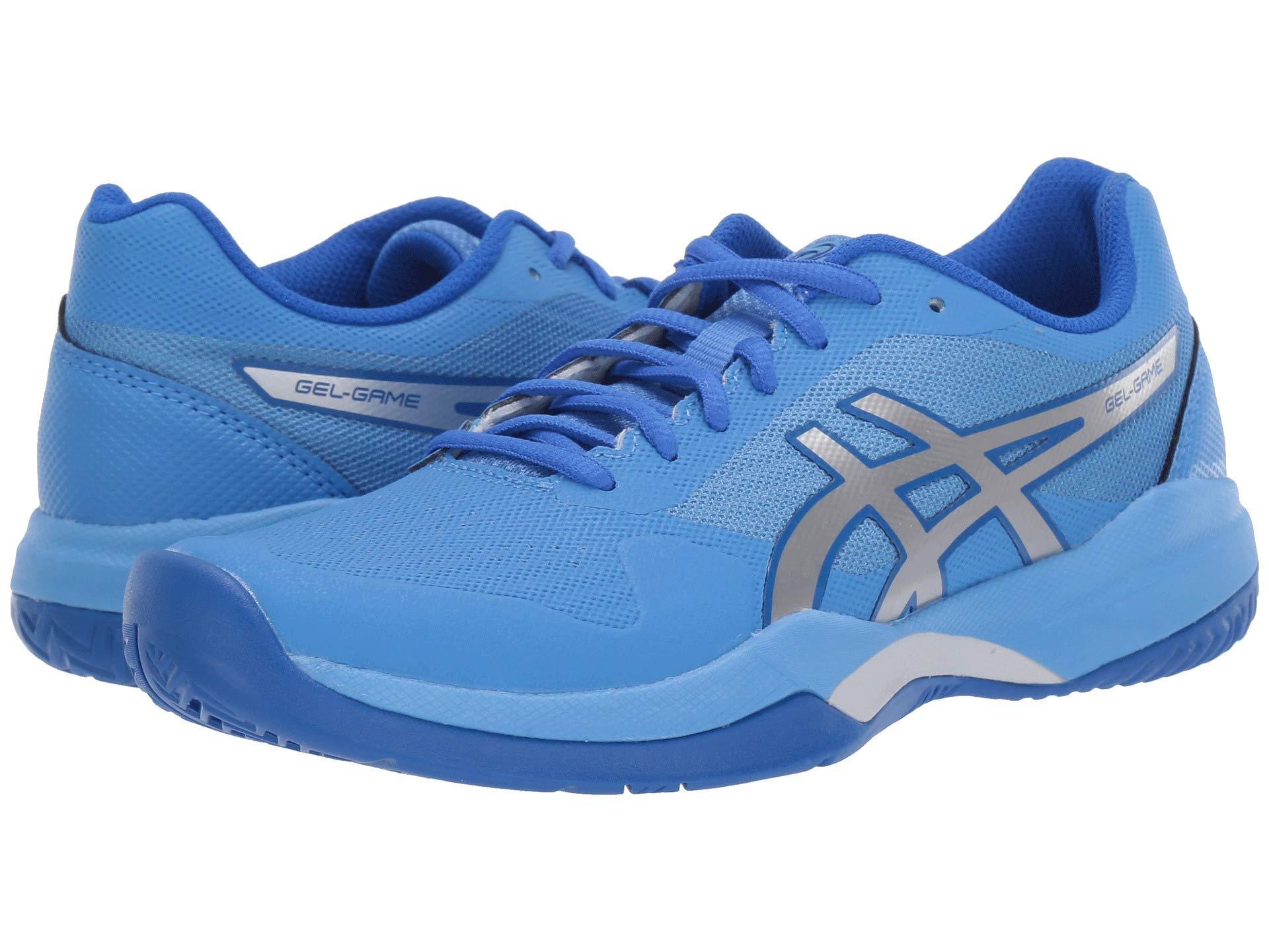 pretty nice 906d5 71dde Asics. Blue Gel-game 7 (papaya silver) Women s Tennis Shoes