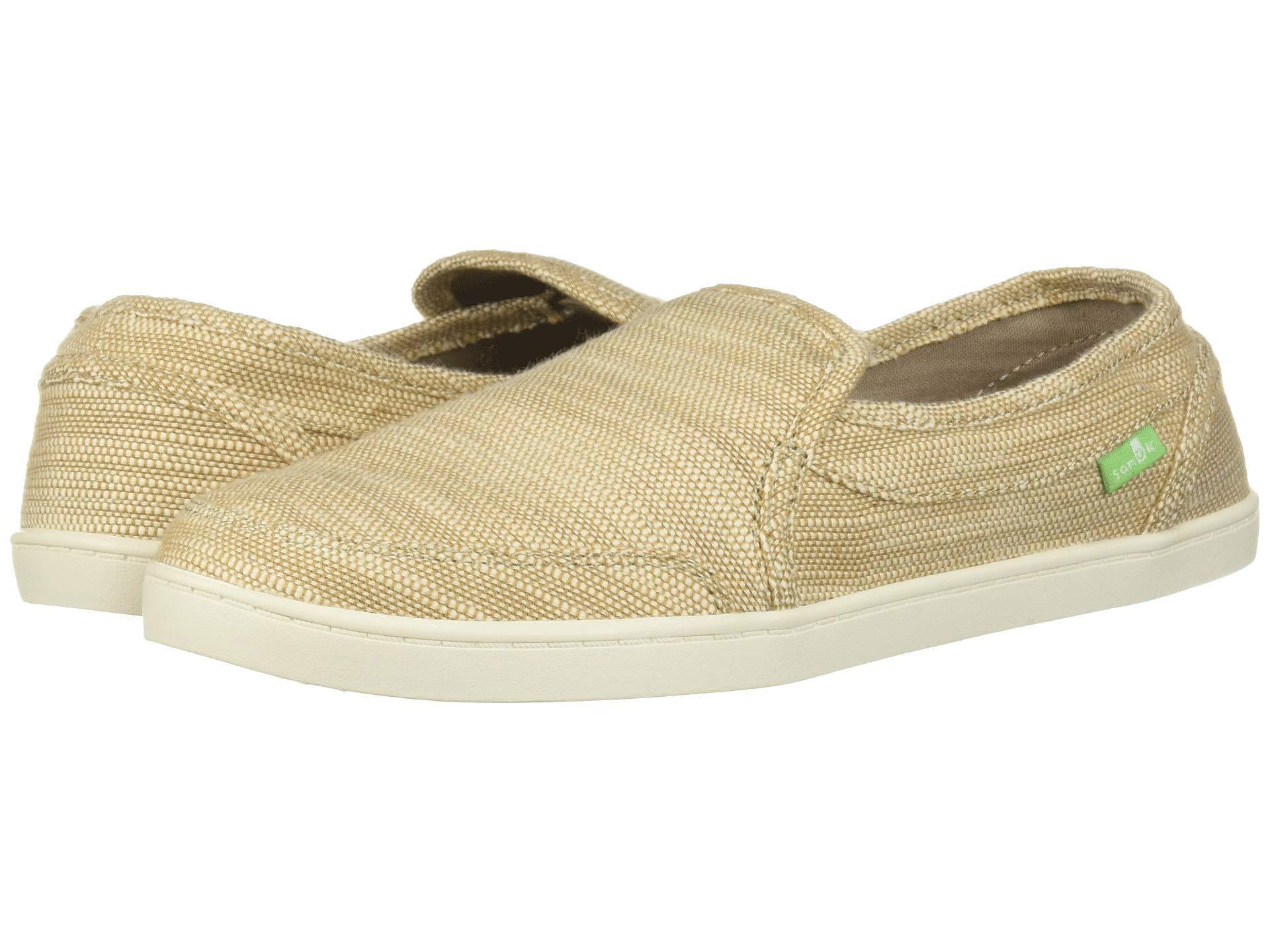 10cff0817efcc Lyst - Sanuk Pair O Dice Hemp (black) Women s Slip On Shoes in Natural
