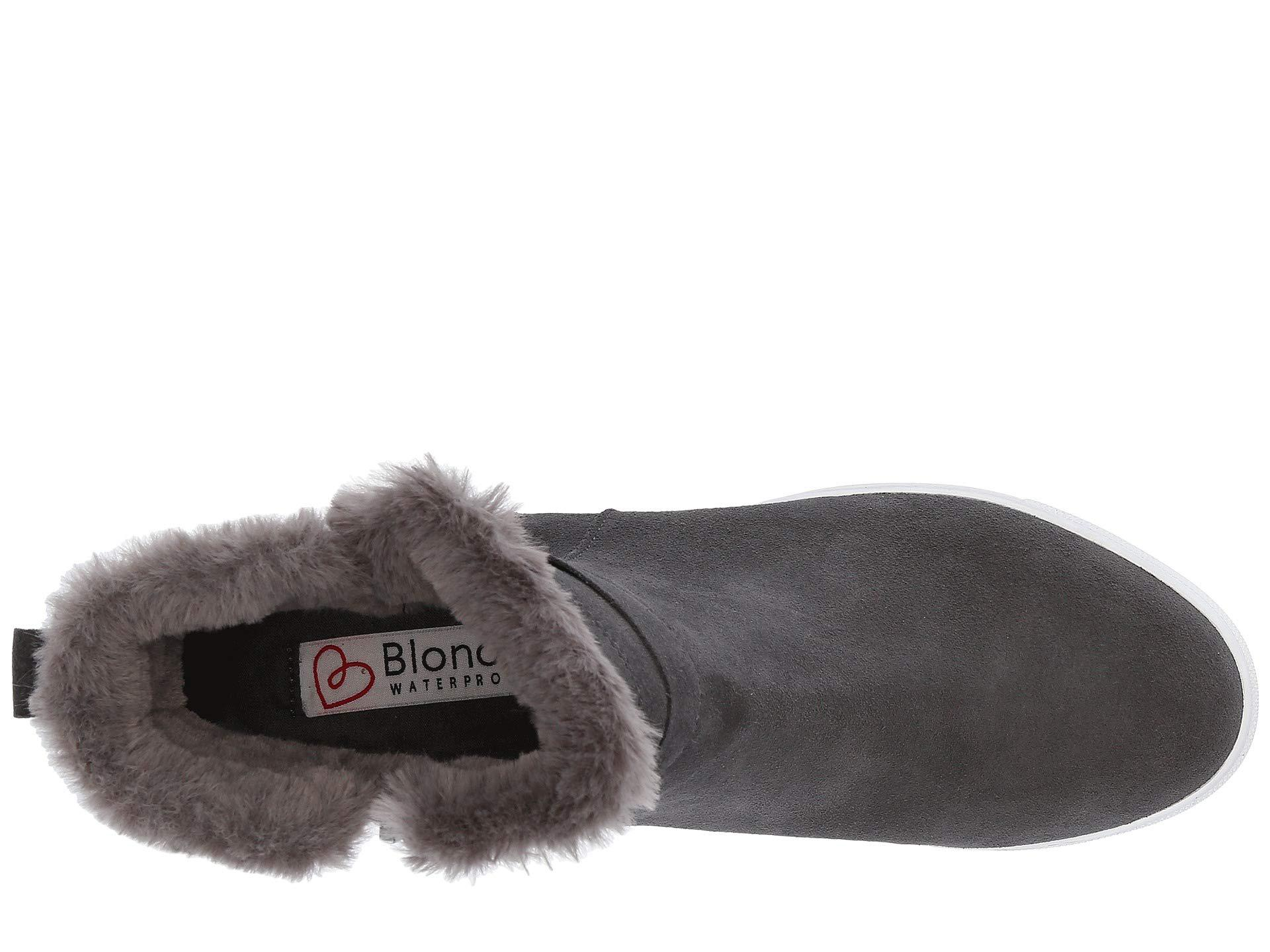 82dc2fd75cb2 Lyst - Blondo Glade Waterproof (dark Grey Suede) Women s Shoes in Gray
