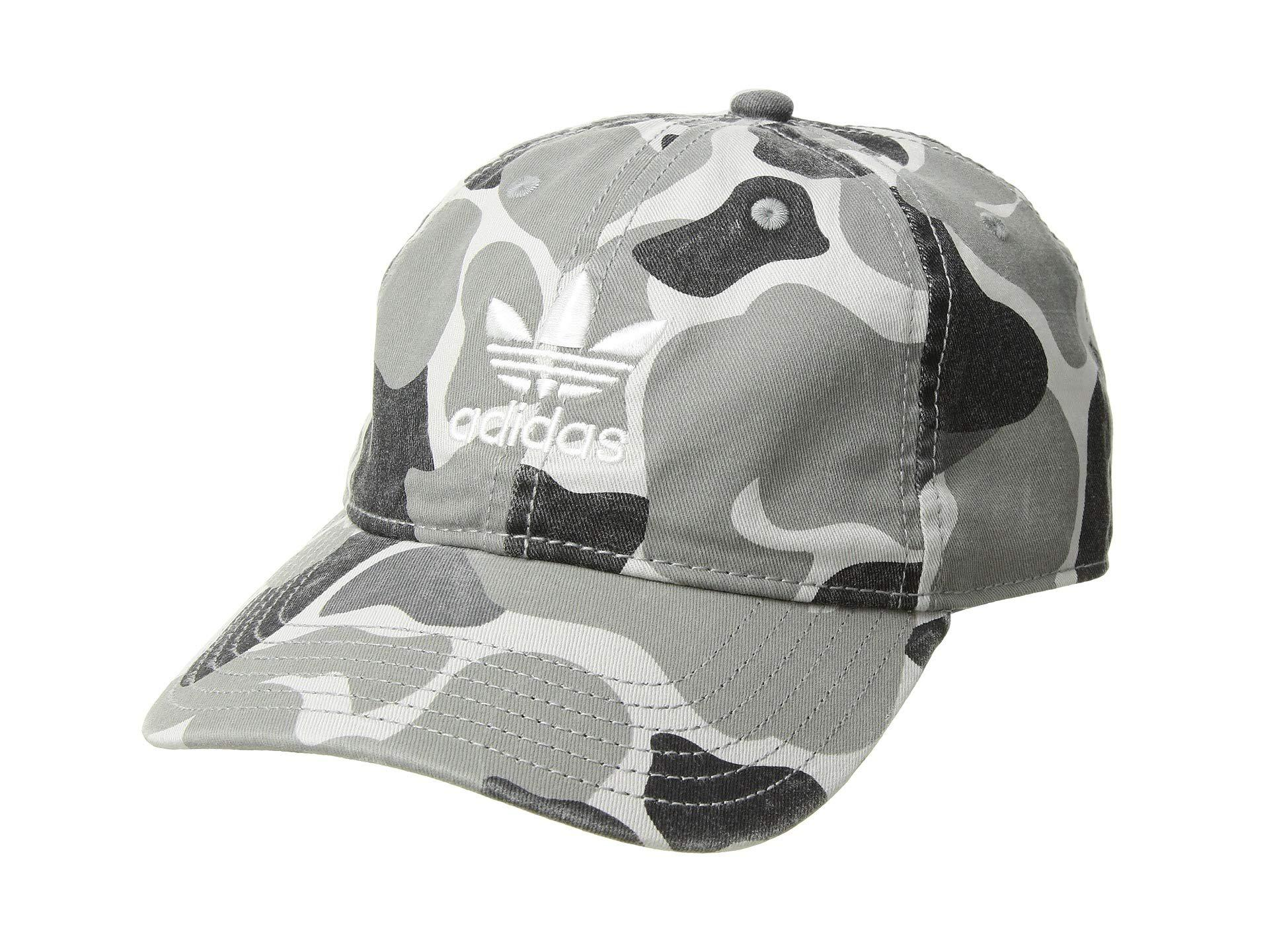 58cb244a175 adidas Originals. Men s Originals Relaxed Strapback Hat (collegiate Red white  Monogram) Caps