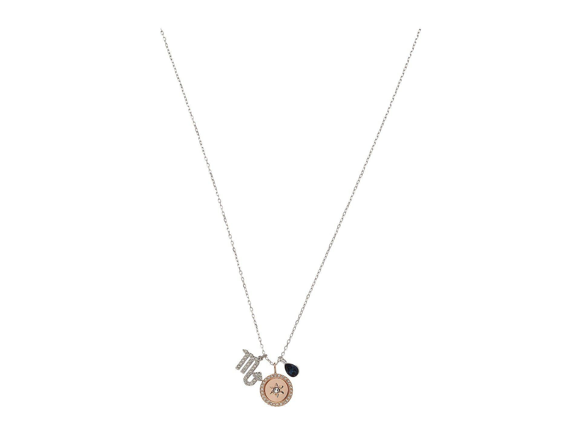 9c068024e Swarovski Zodiac Pendant Scorpio Necklace (teal) Necklace in ...