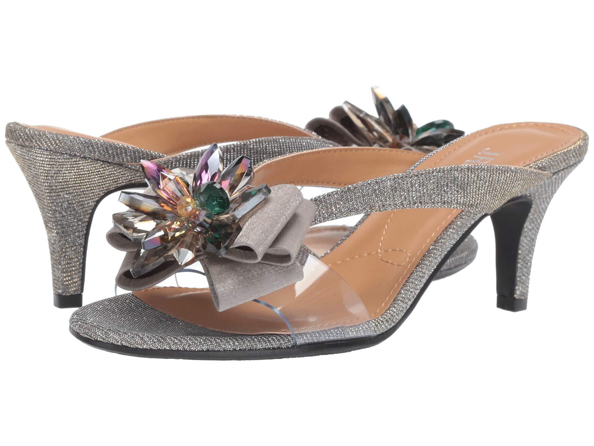 42852cfbe80 Lyst - J. Reneé Gredel (silver Glitter clear) Women s 1-2 Inch Heel ...