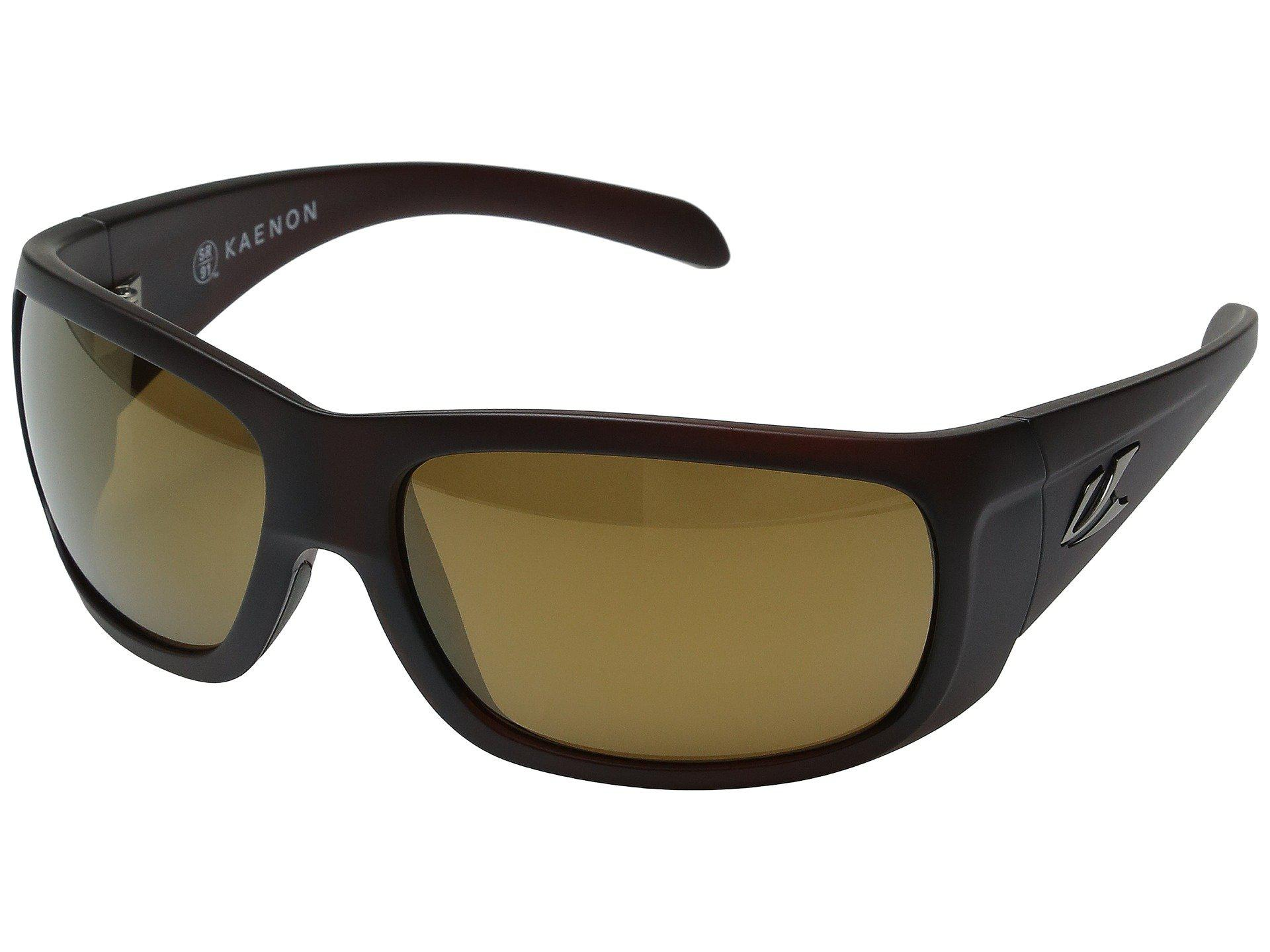 c7bfcad1f131 Kaenon. Men s Cliff (gold Coast brown 12 Polarized Gold Mirror) Sport  Sunglasses