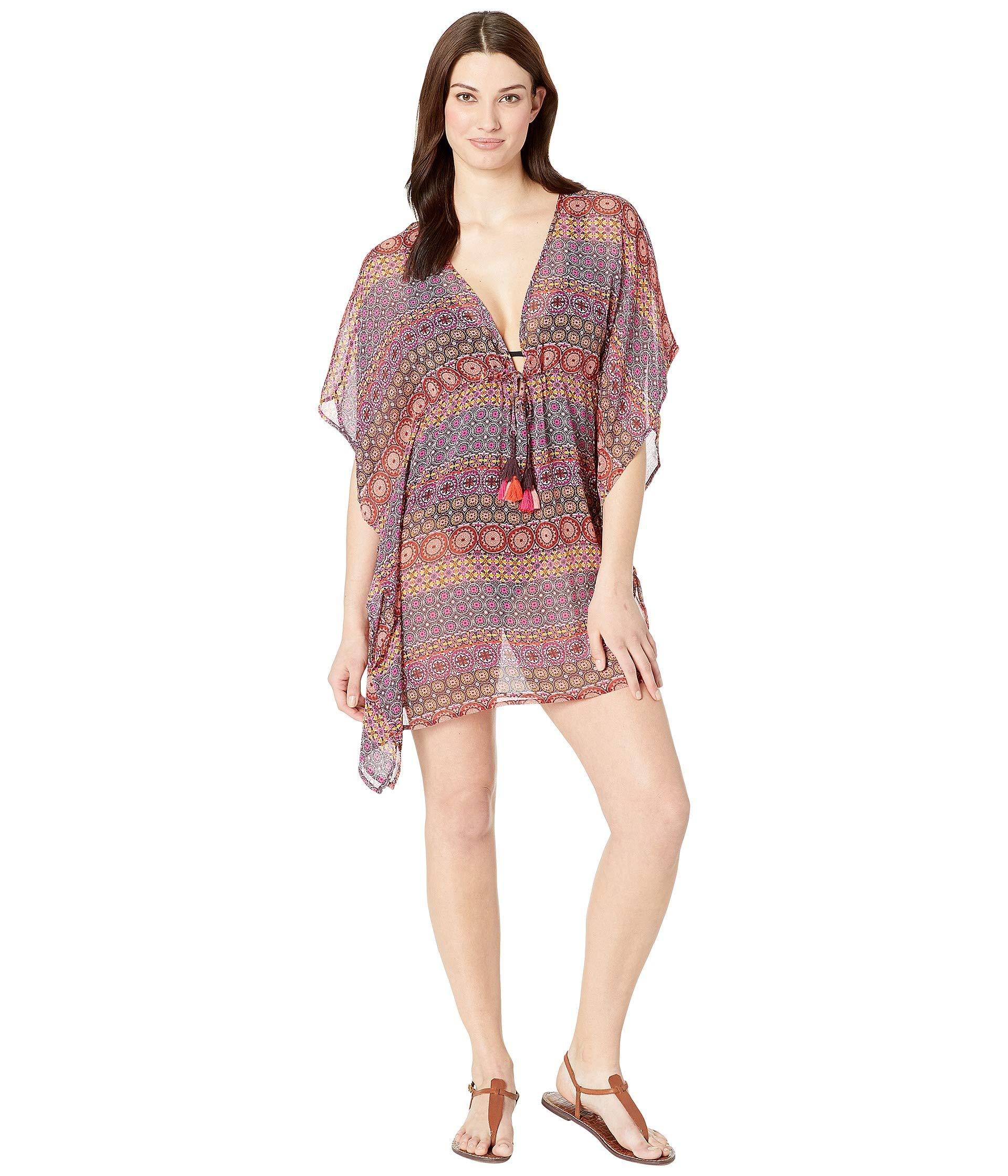 6099dc9c97 Lyst - Bleu Rod Beattie Caftan Cover-up (black) Women's Swimwear in Pink