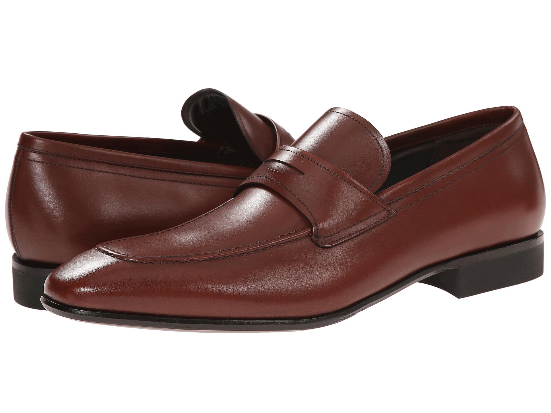 Ferragamo Metro Loafer In Brown For Men | Lyst